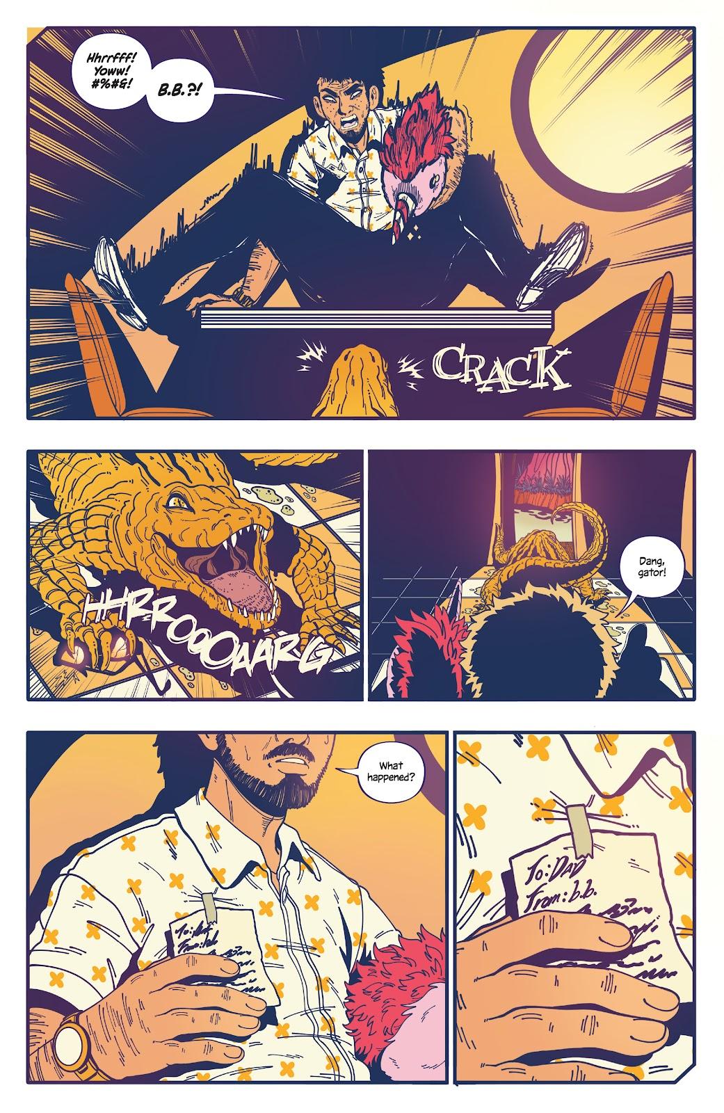 Read online b.b. free comic -  Issue #2 - 11