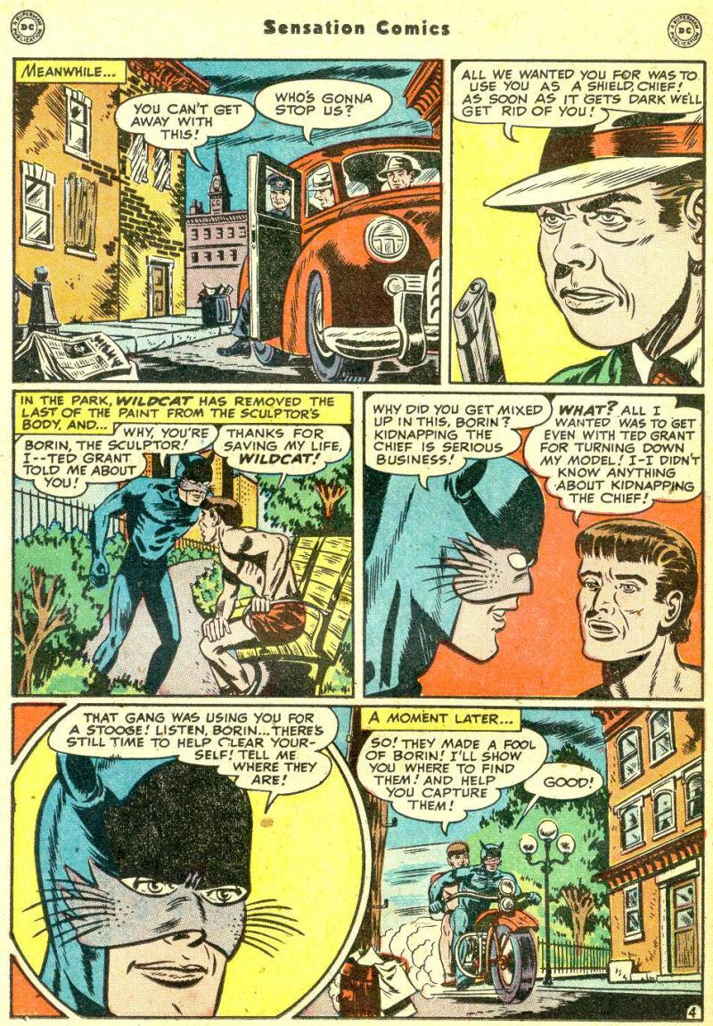 Read online Sensation (Mystery) Comics comic -  Issue #87 - 20