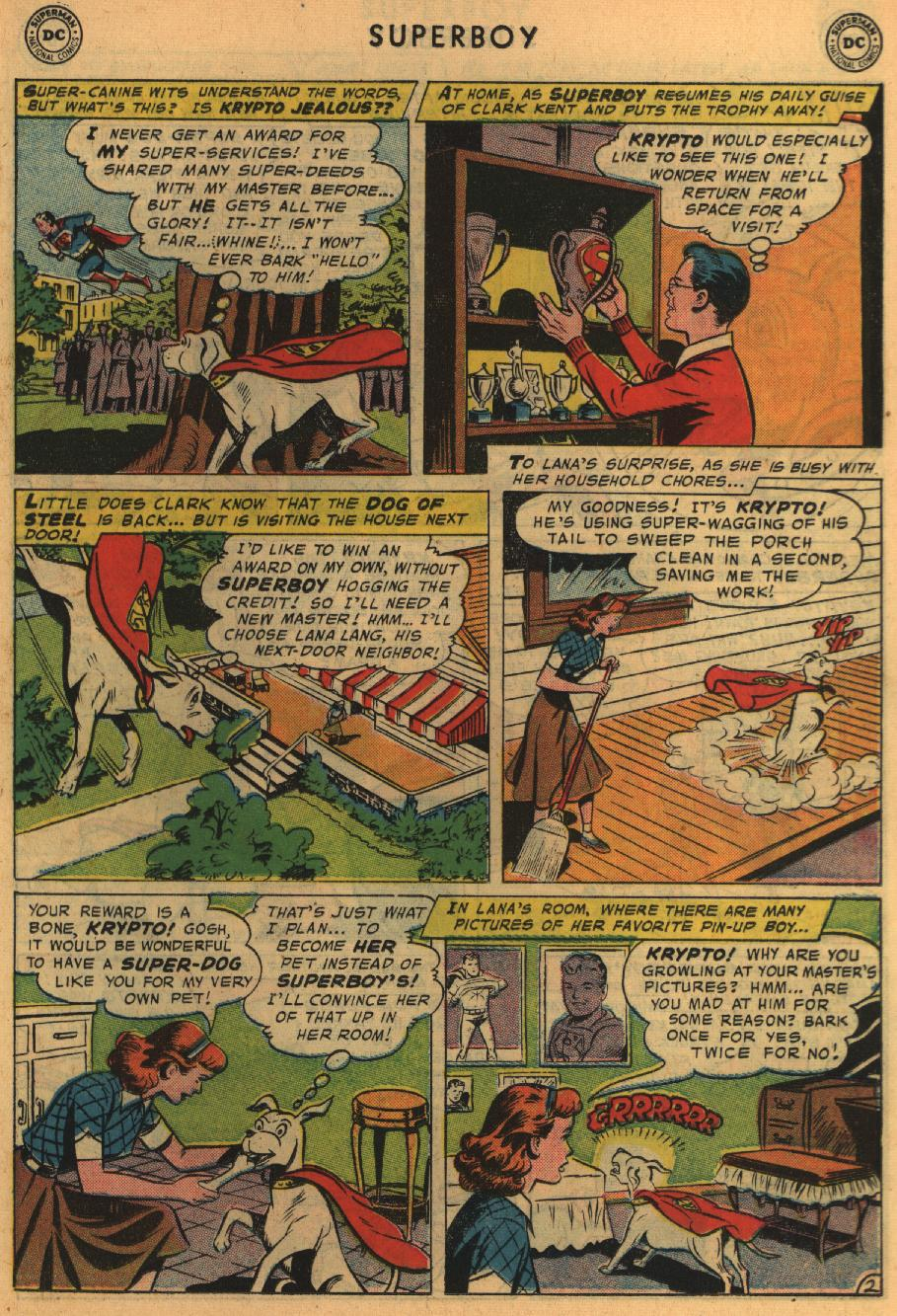 Superboy (1949) issue 64 - Page 22