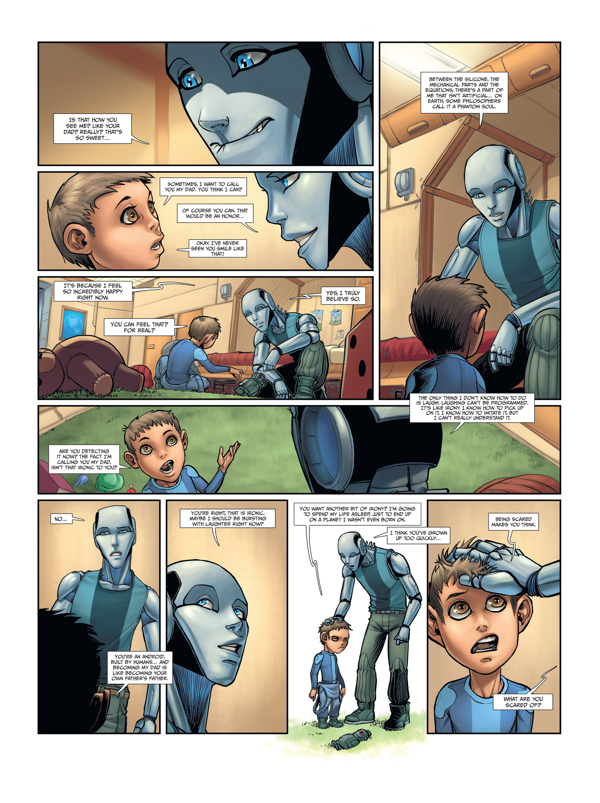 Read online Androïds comic -  Issue #2 - 11