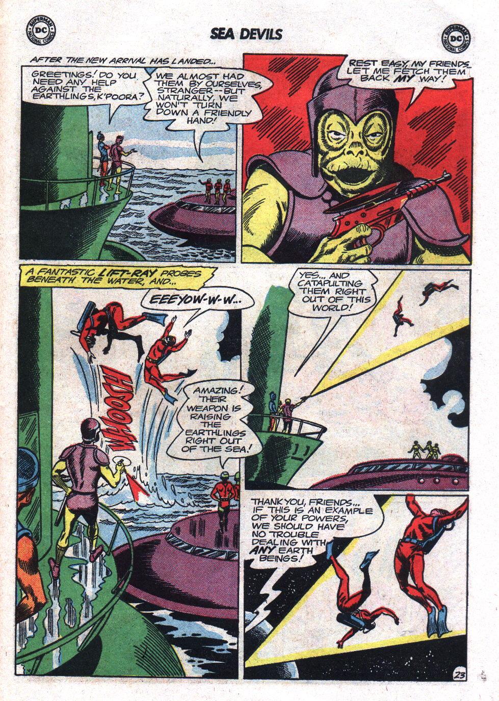 Read online Sea Devils comic -  Issue #17 - 31