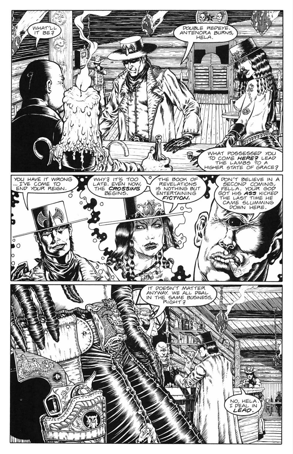 Read online Gunfighters in Hell comic -  Issue #3 - 19