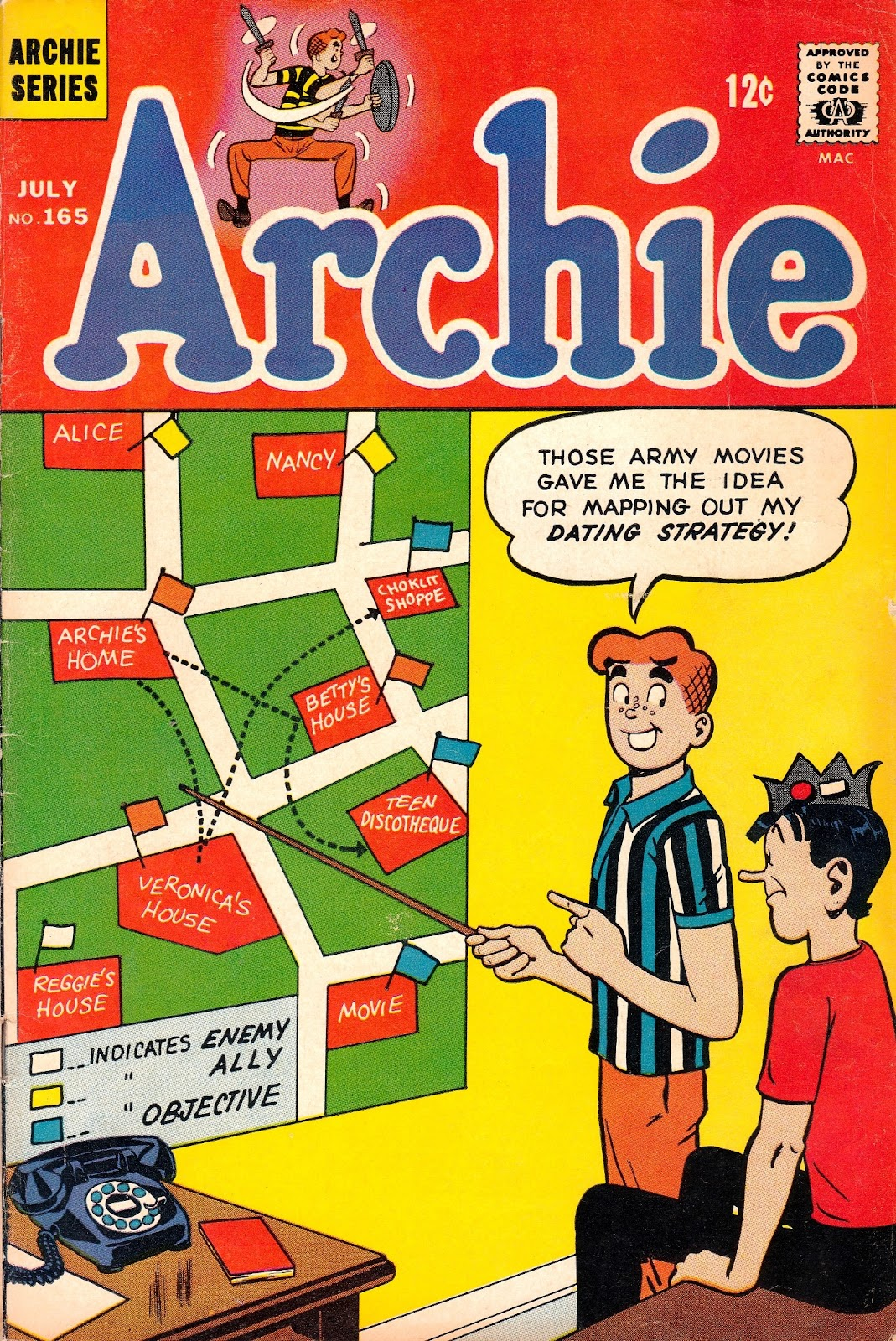 Read online Archie (1960) comic -  Issue #165 - 1