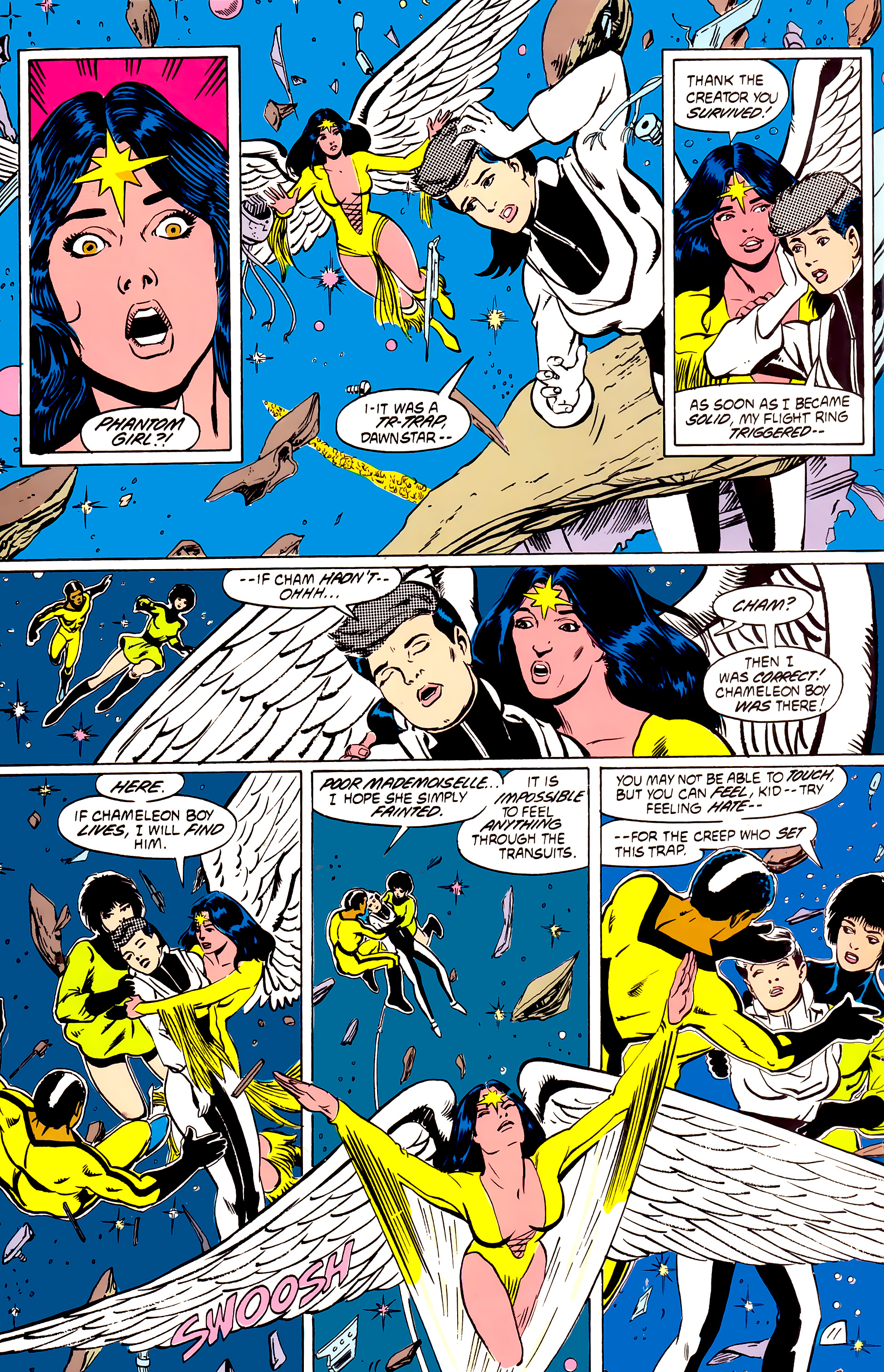 Legion of Super-Heroes (1984) _Annual_4 Page 11