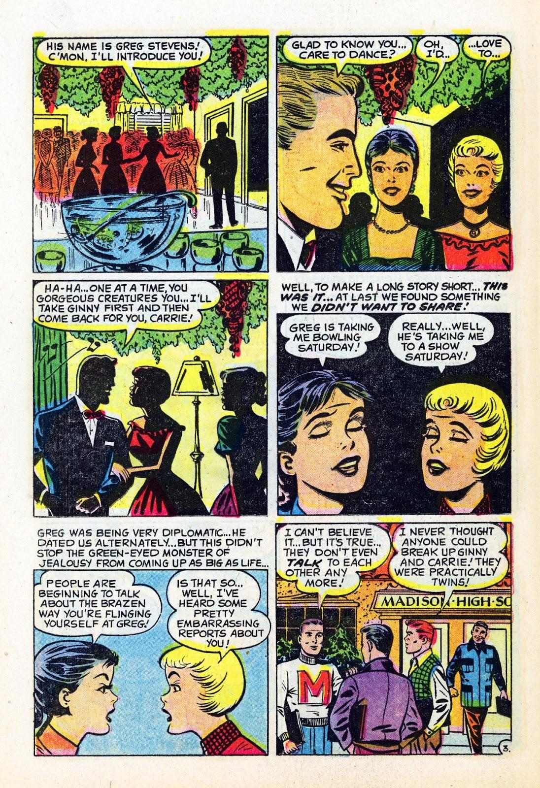 Read online Patsy Walker comic -  Issue #58 - 22