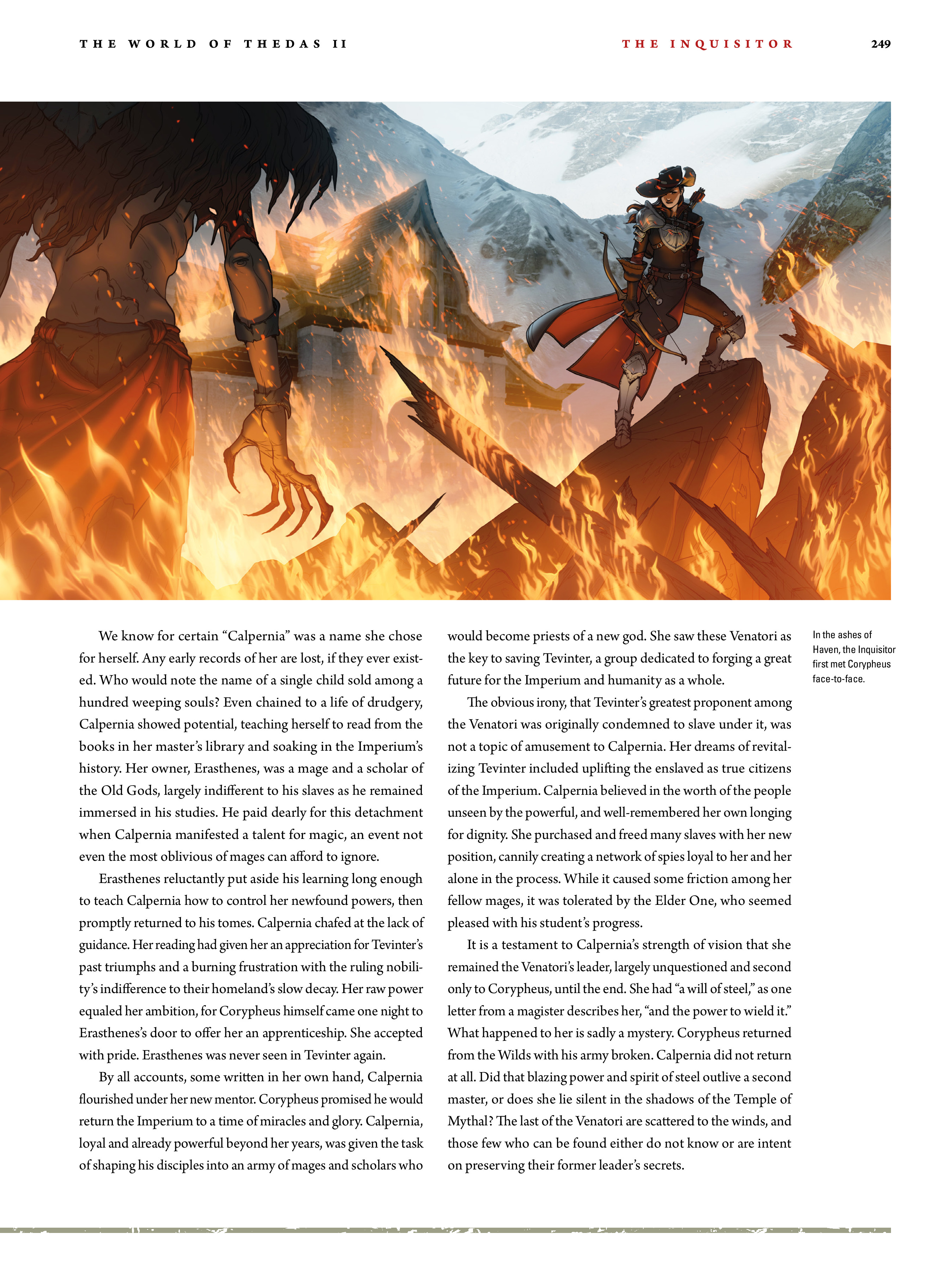 Read online Dragon Age: The World of Thedas comic -  Issue # TPB 2 - 243