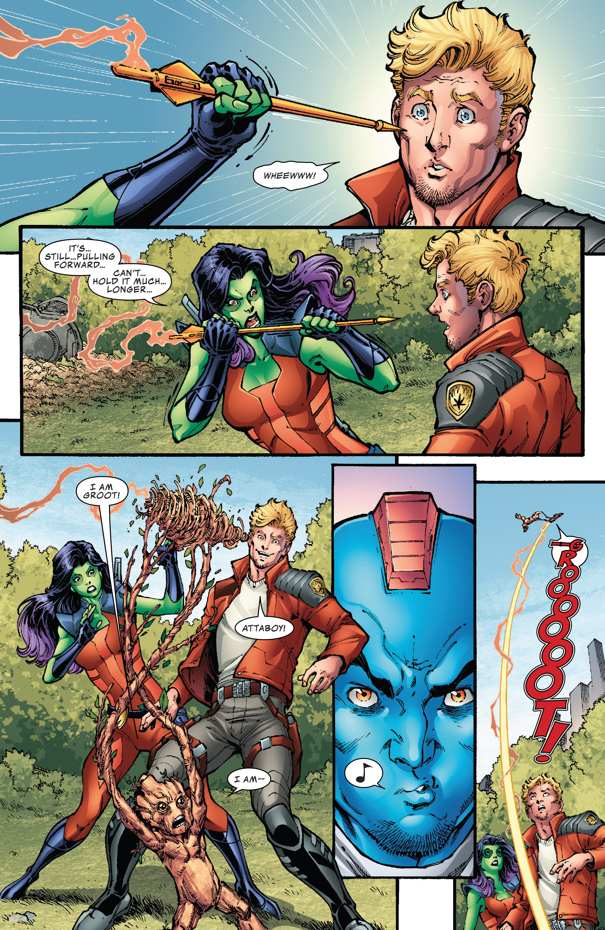 Read online Hi-Tech Heroes Presented By Hanes comic -  Issue # Full - 8