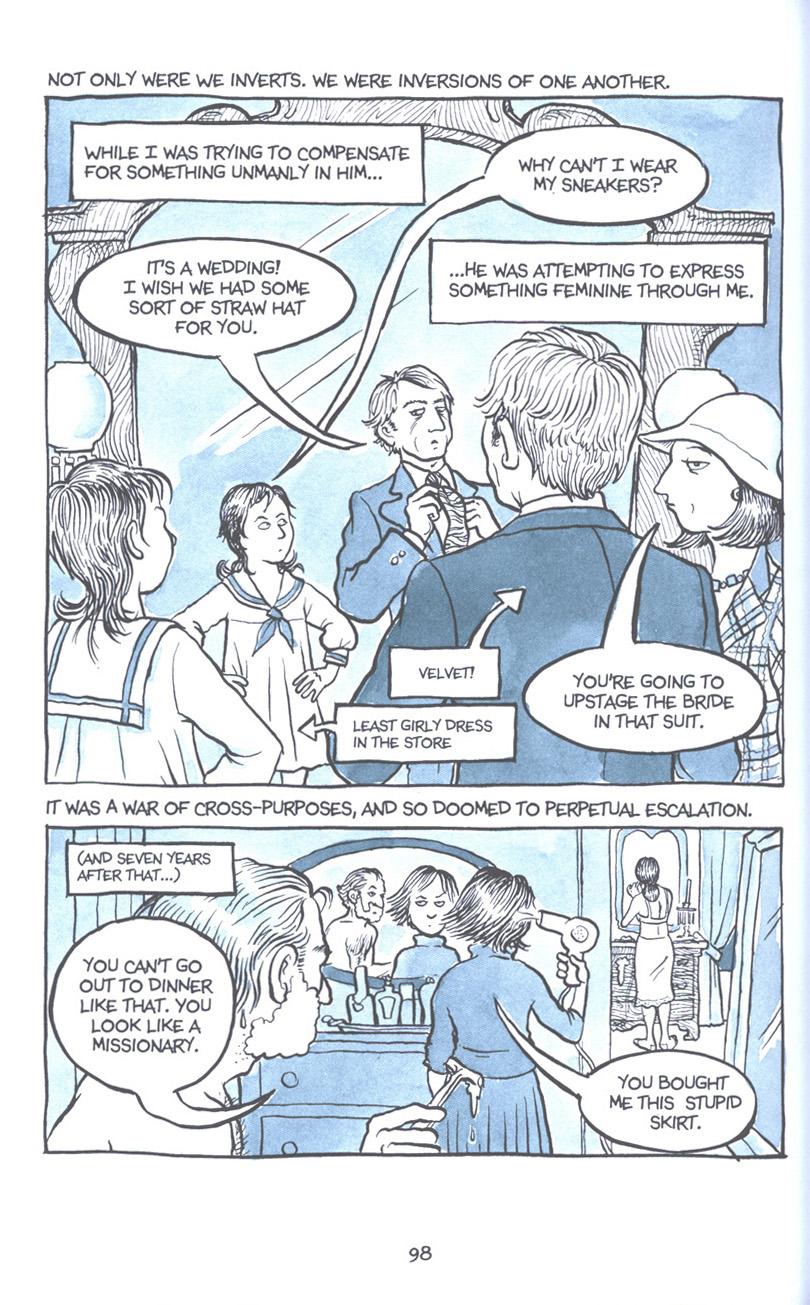 Read online Fun Home: A Family Tragicomic comic -  Issue # TPB - 105