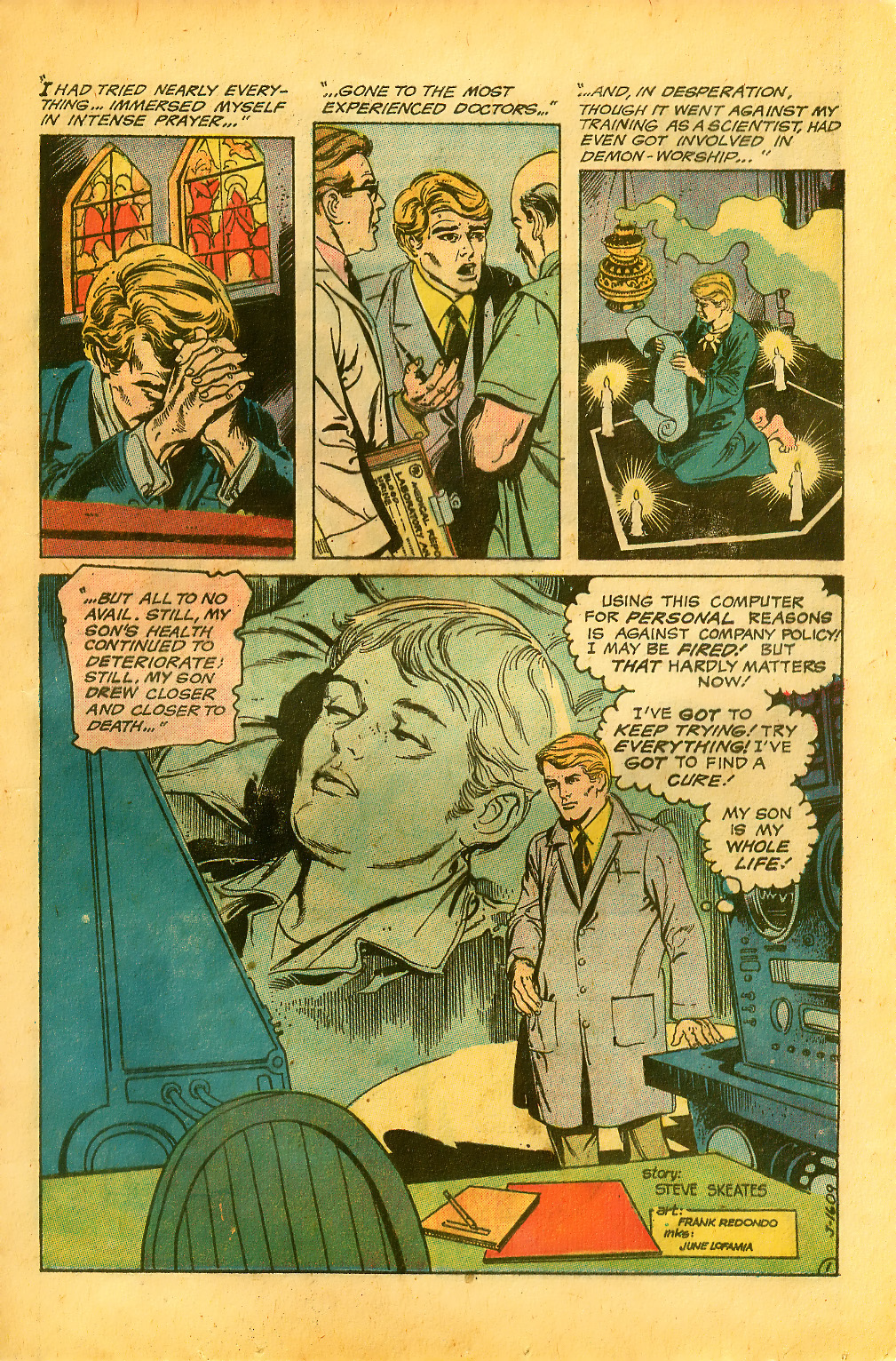 Weird Mystery Tales issue 7 - Page 21