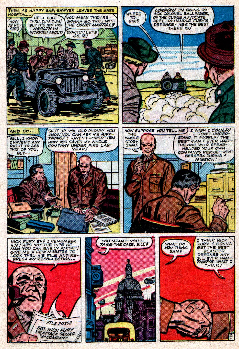 Read online Sgt. Fury comic -  Issue #7 - 13