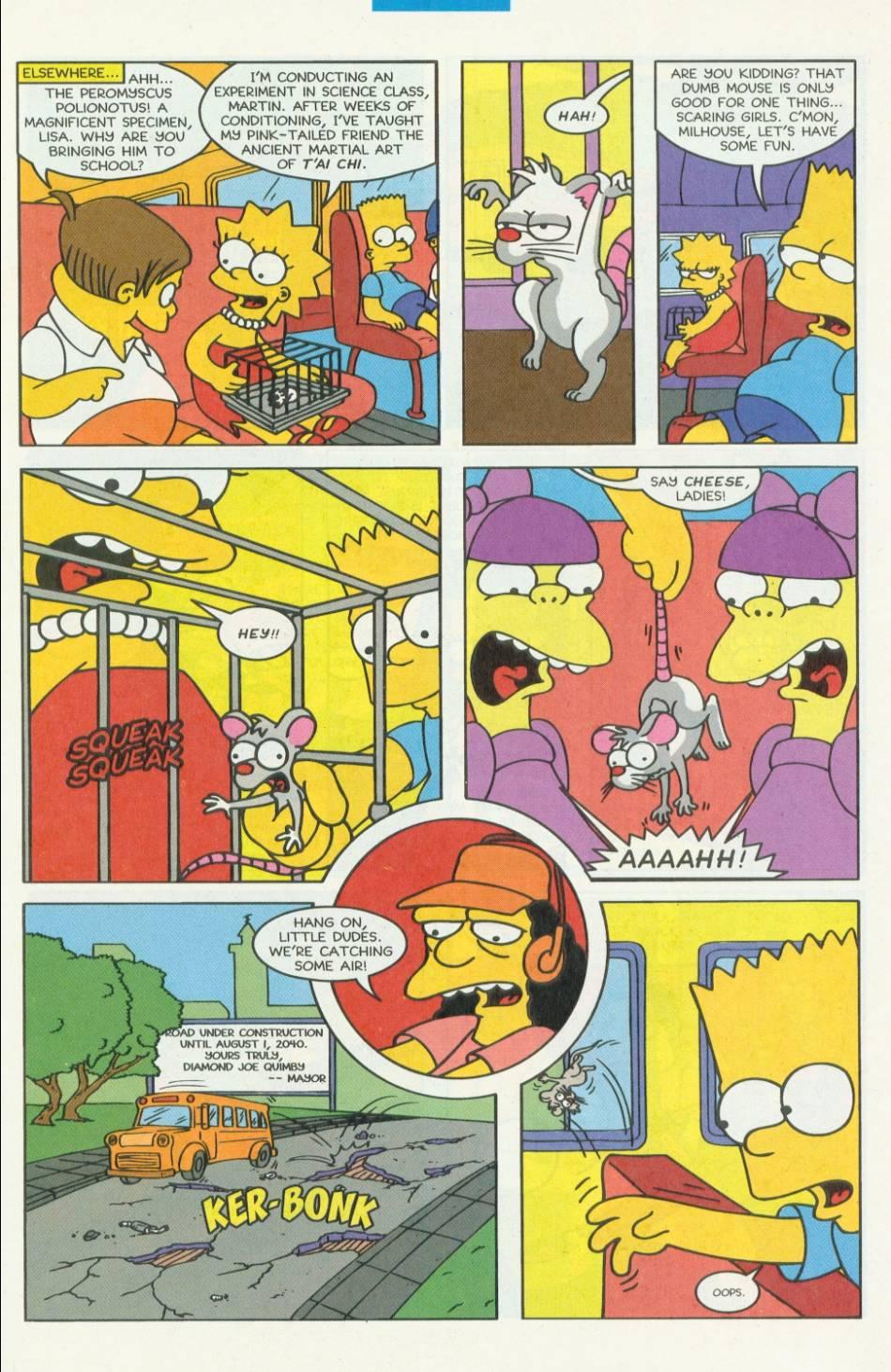Read online Simpsons Comics comic -  Issue #8 - 6