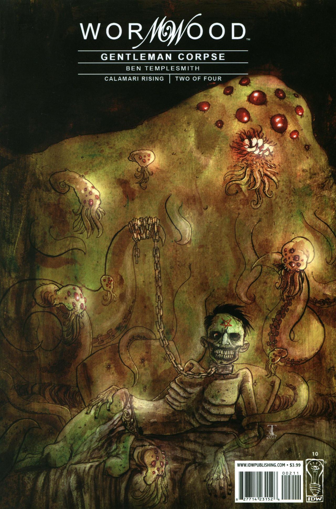 Read online Wormwood: Gentleman Corpse comic -  Issue #10 - 1