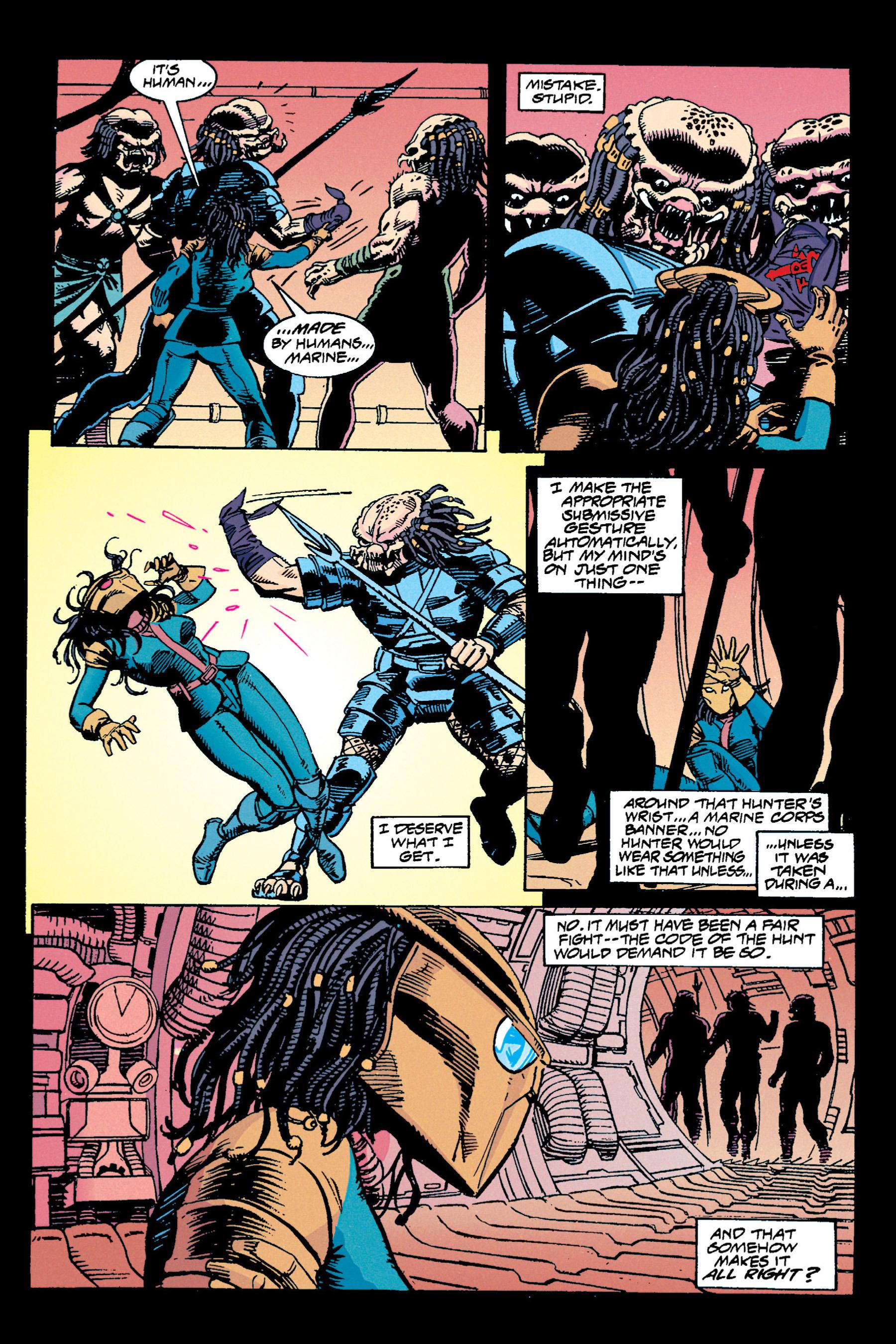 Read online Aliens vs. Predator Omnibus comic -  Issue # _TPB 1 Part 3 - 53