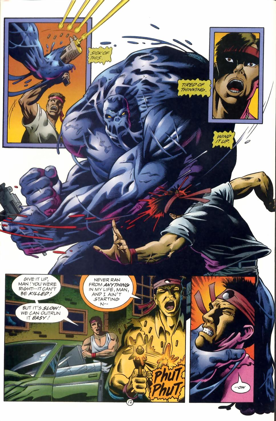 Read online Sludge comic -  Issue #1 - 13