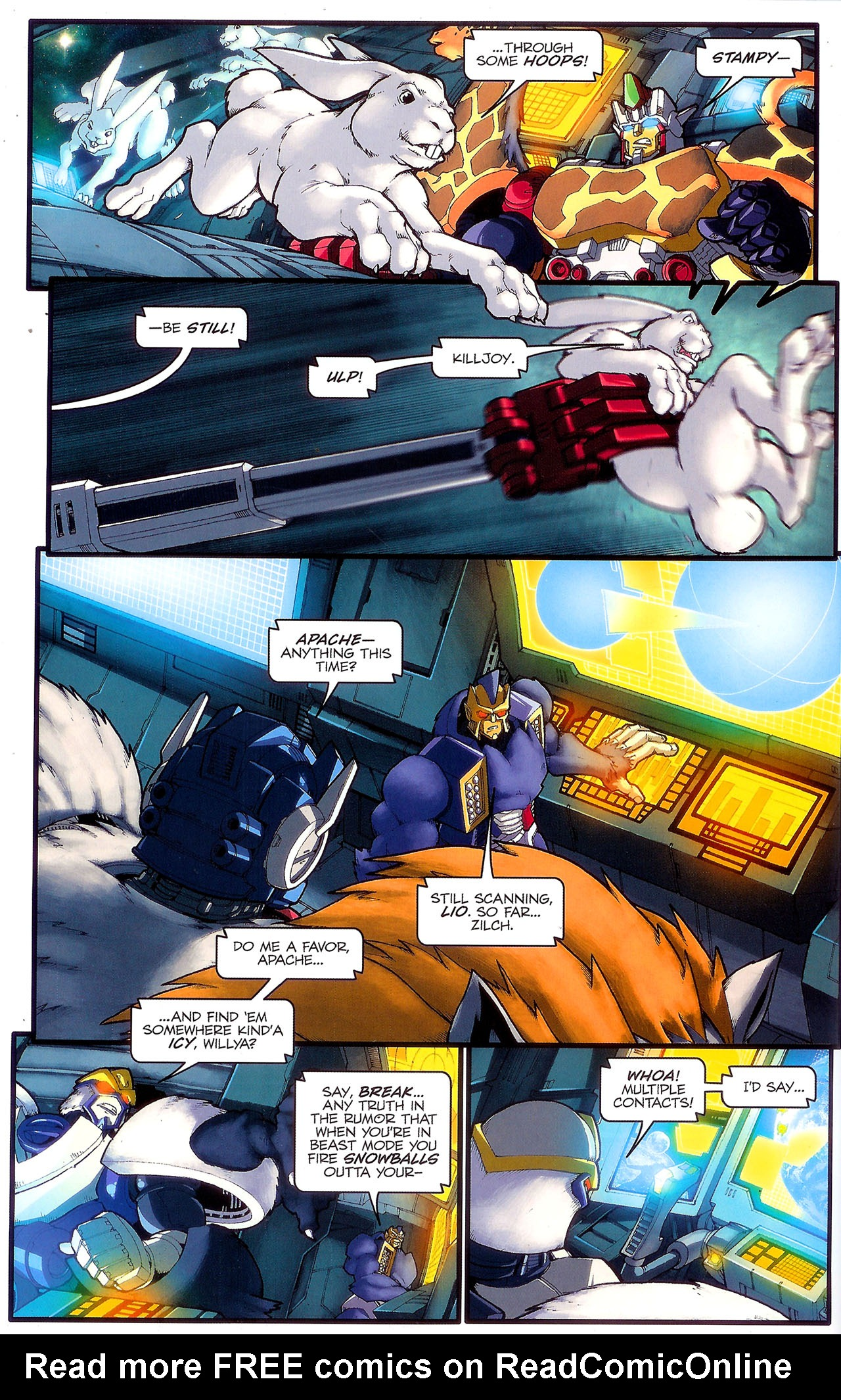 Read online Transformers: Beast Wars: The Ascending comic -  Issue #2 - 17