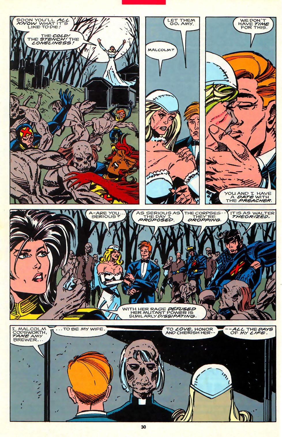 Read online Alpha Flight (1983) comic -  Issue #107 - 23