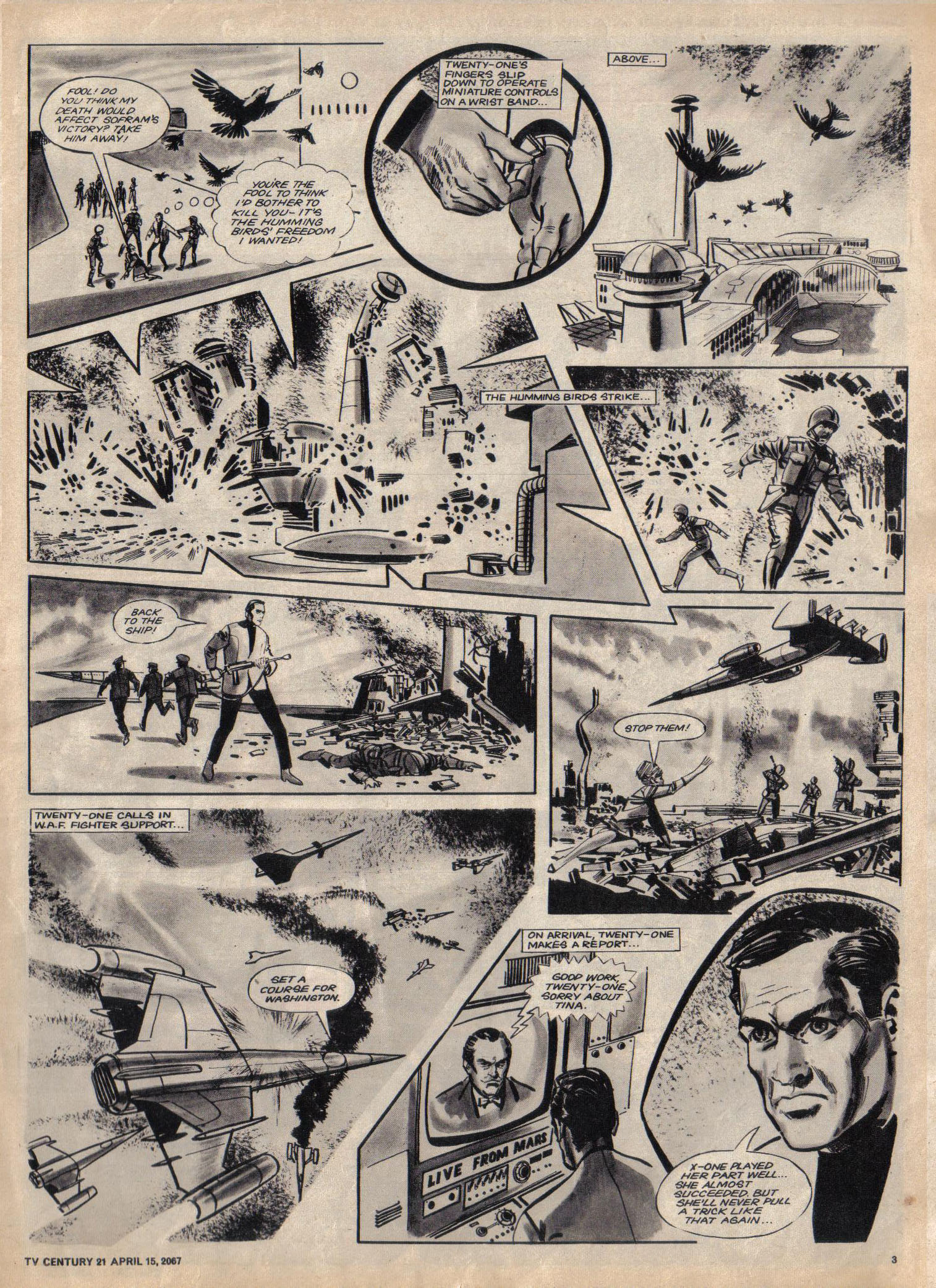 Read online TV Century 21 (TV 21) comic -  Issue #117 - 3