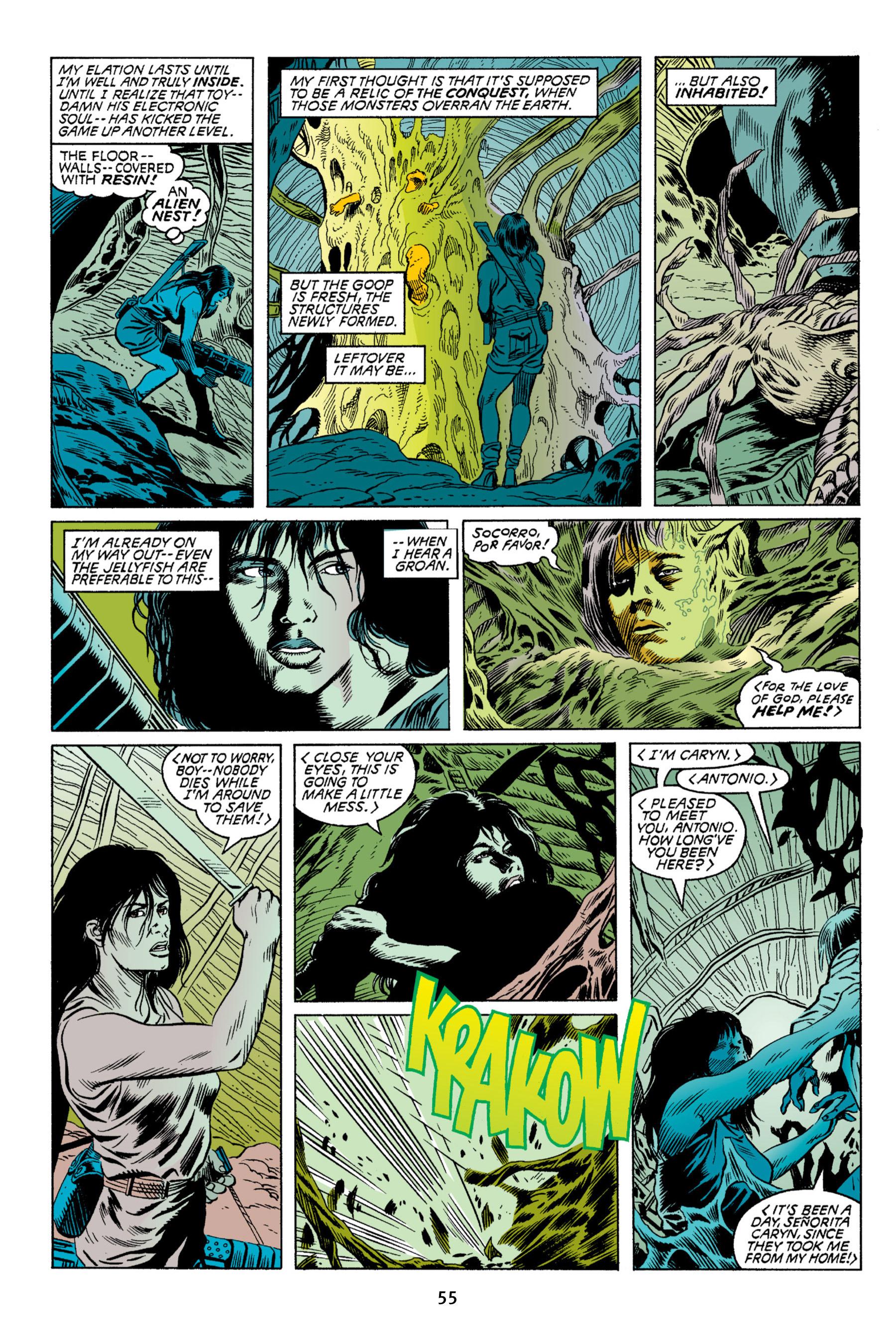 Read online Aliens vs. Predator Omnibus comic -  Issue # _TPB 2 Part 1 - 55