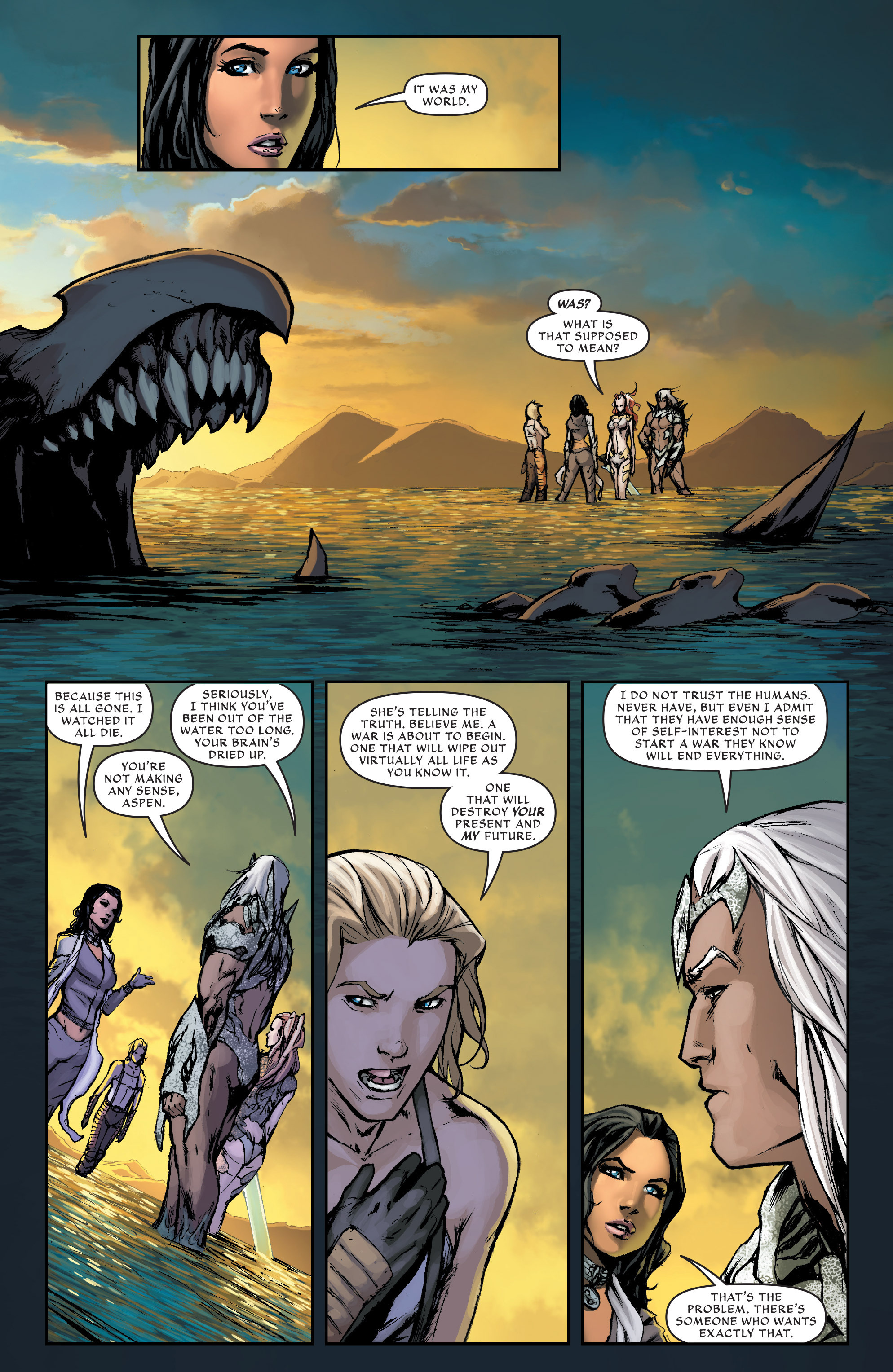 Read online Aspen Universe: Revelations comic -  Issue #3 - 6