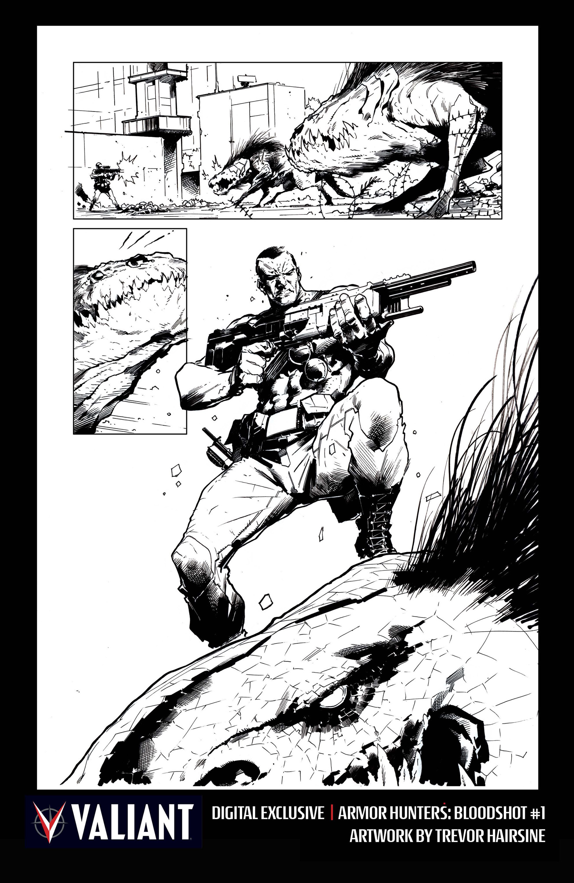 Read online Armor Hunters: Bloodshot comic -  Issue #1 - 38