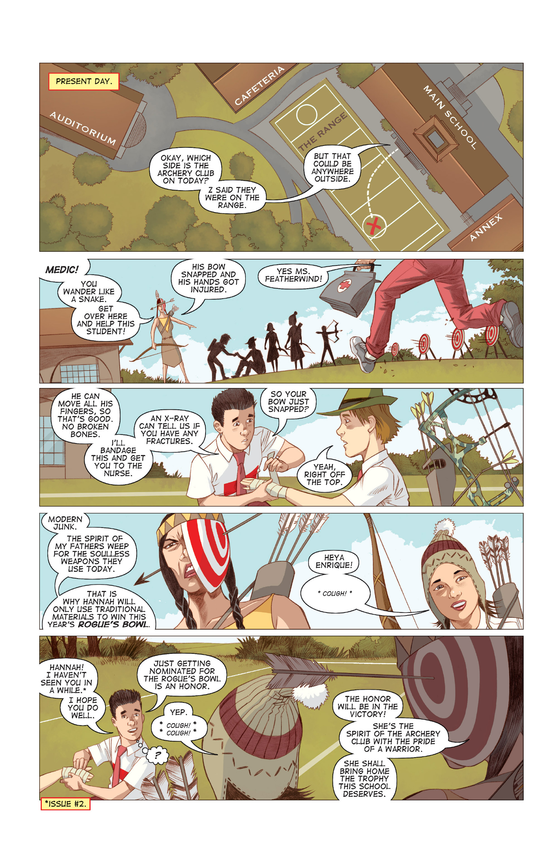 Read online Five Weapons comic -  Issue #7 - 21