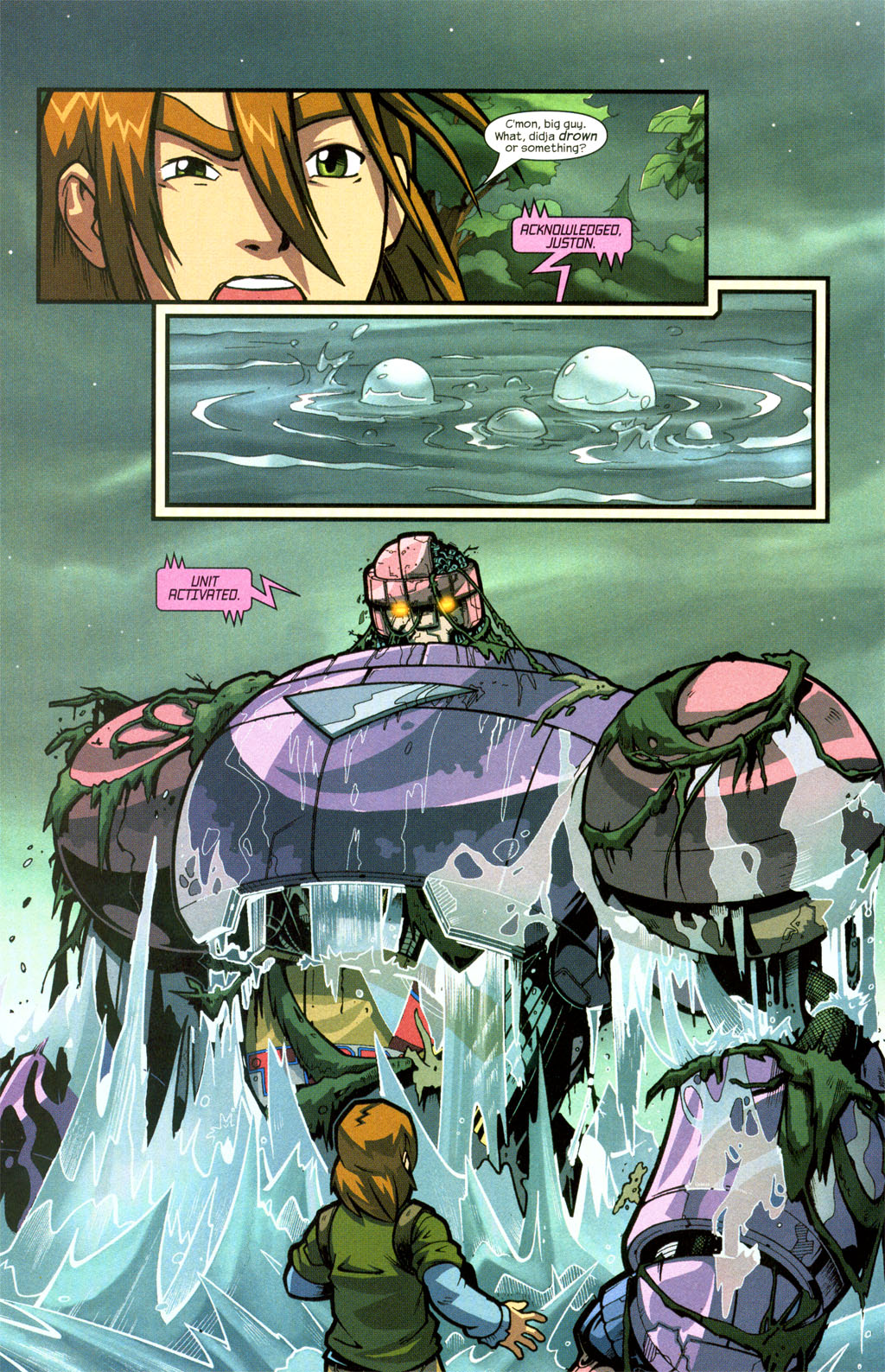 Read online Sentinel comic -  Issue #7 - 16