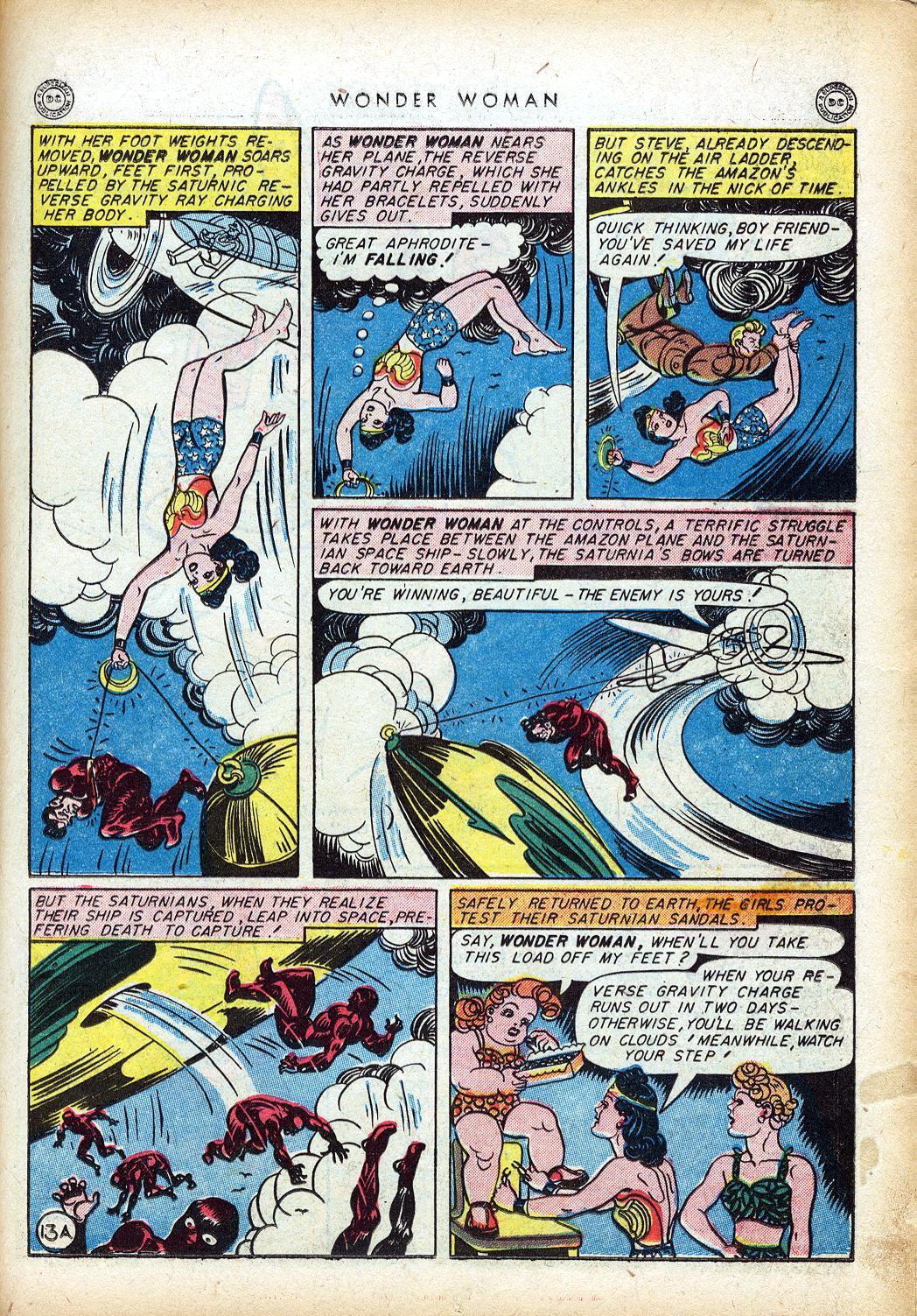 Read online Wonder Woman (1942) comic -  Issue #10 - 16