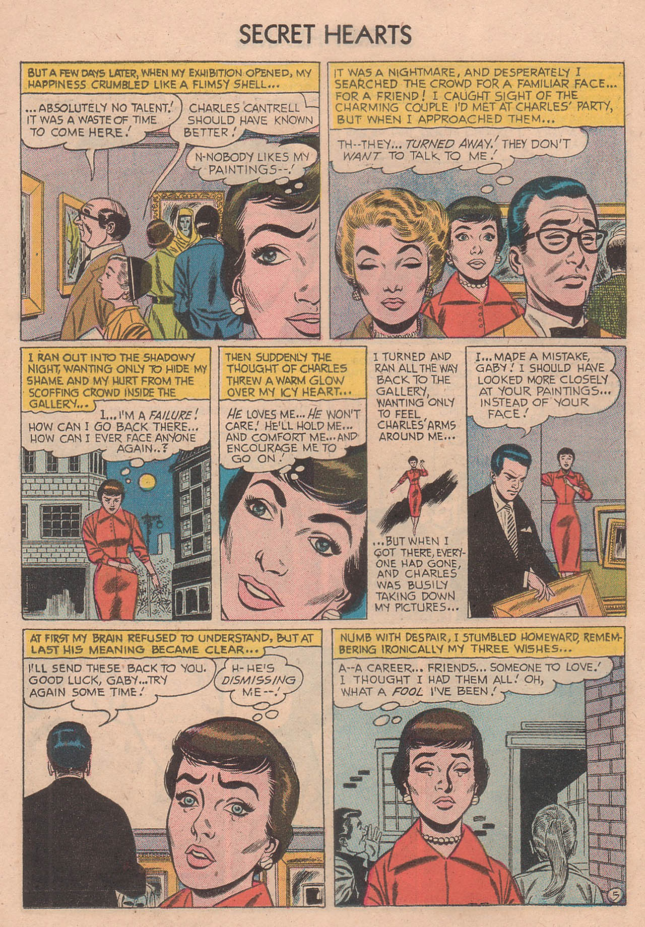 Read online Secret Hearts comic -  Issue #39 - 14