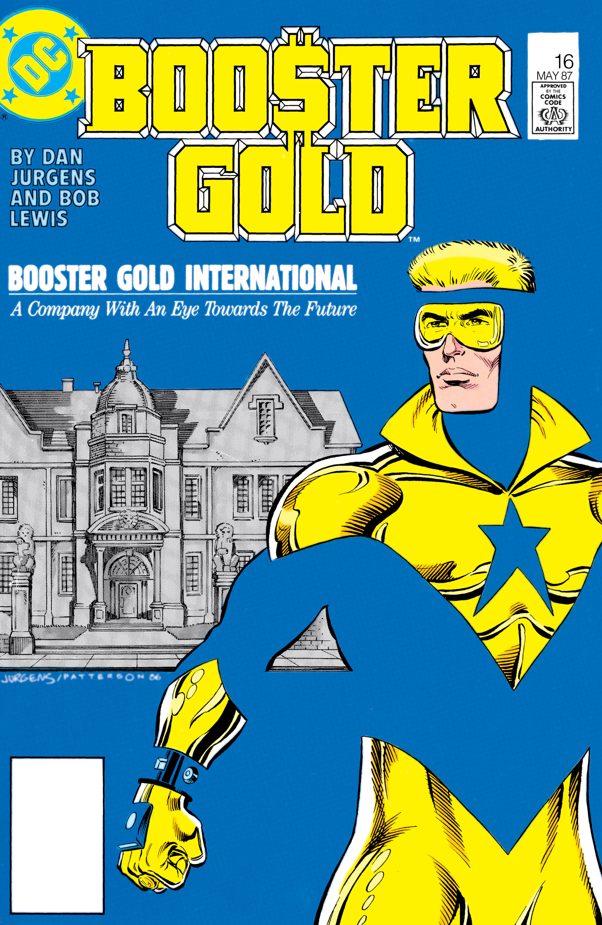Booster Gold 1986 Issue 16