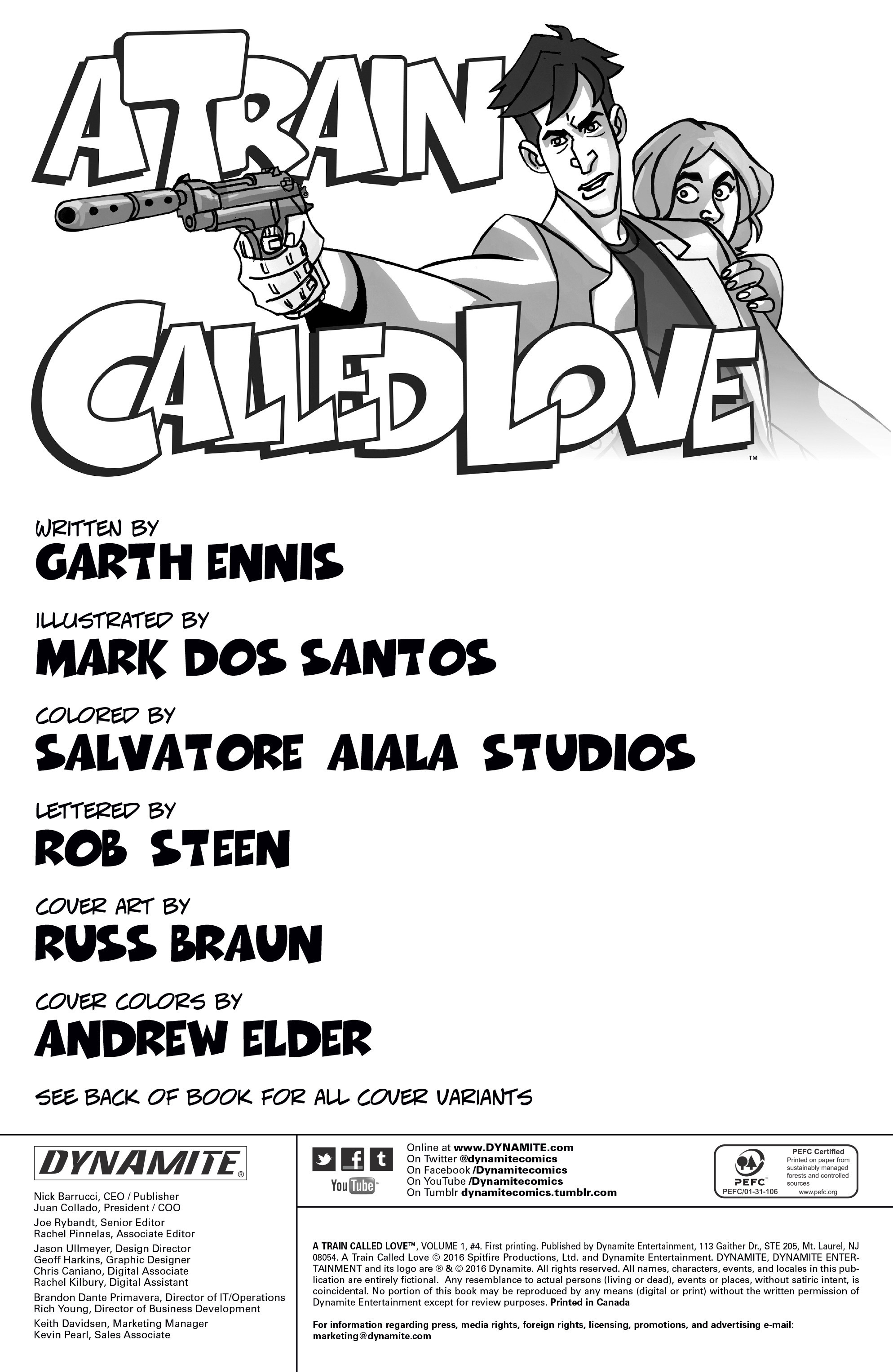 Read online A Train Called Love comic -  Issue #4 - 2