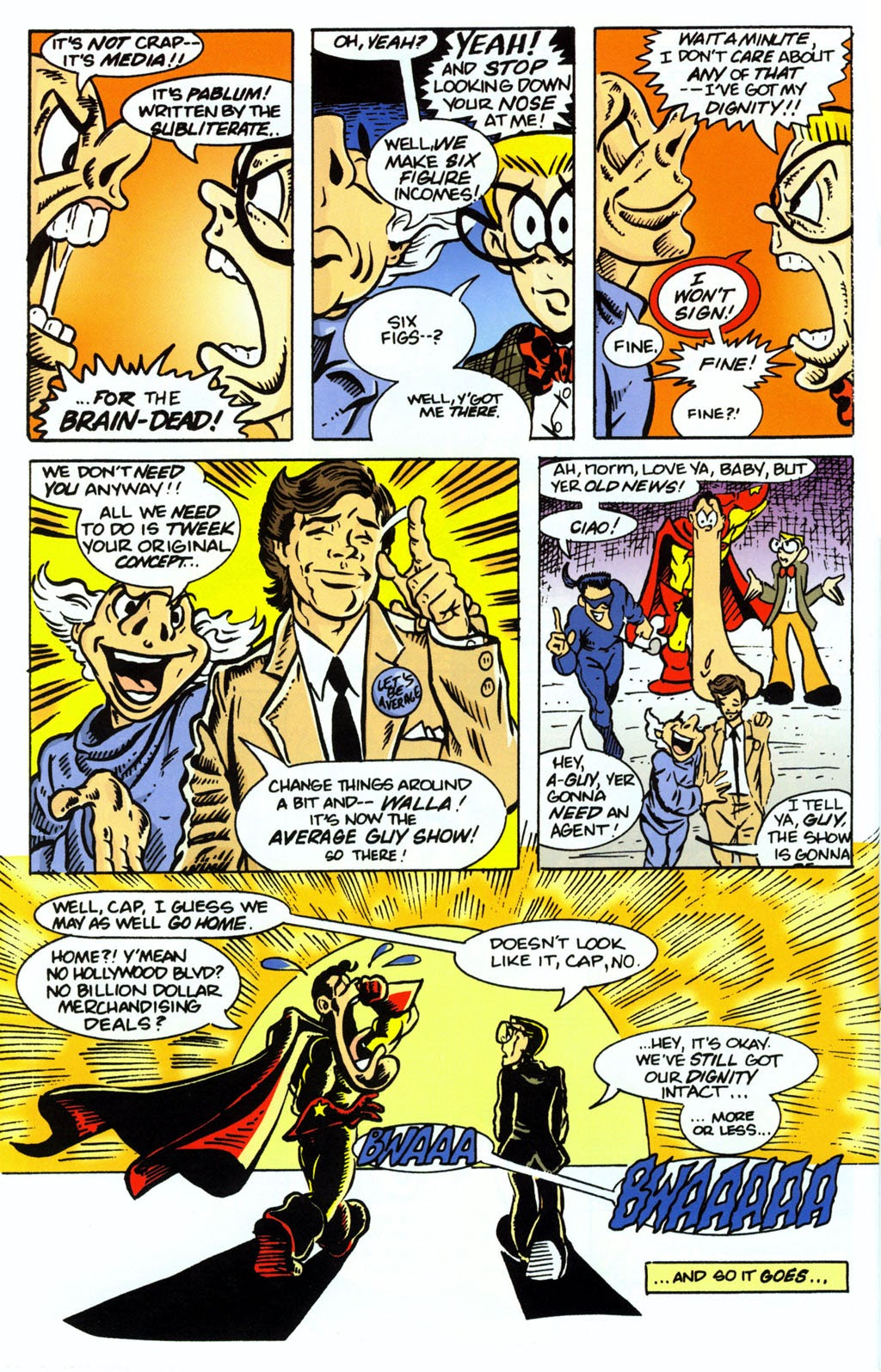 Read online Normalman 20th Anniversary Special comic -  Issue # Full - 34