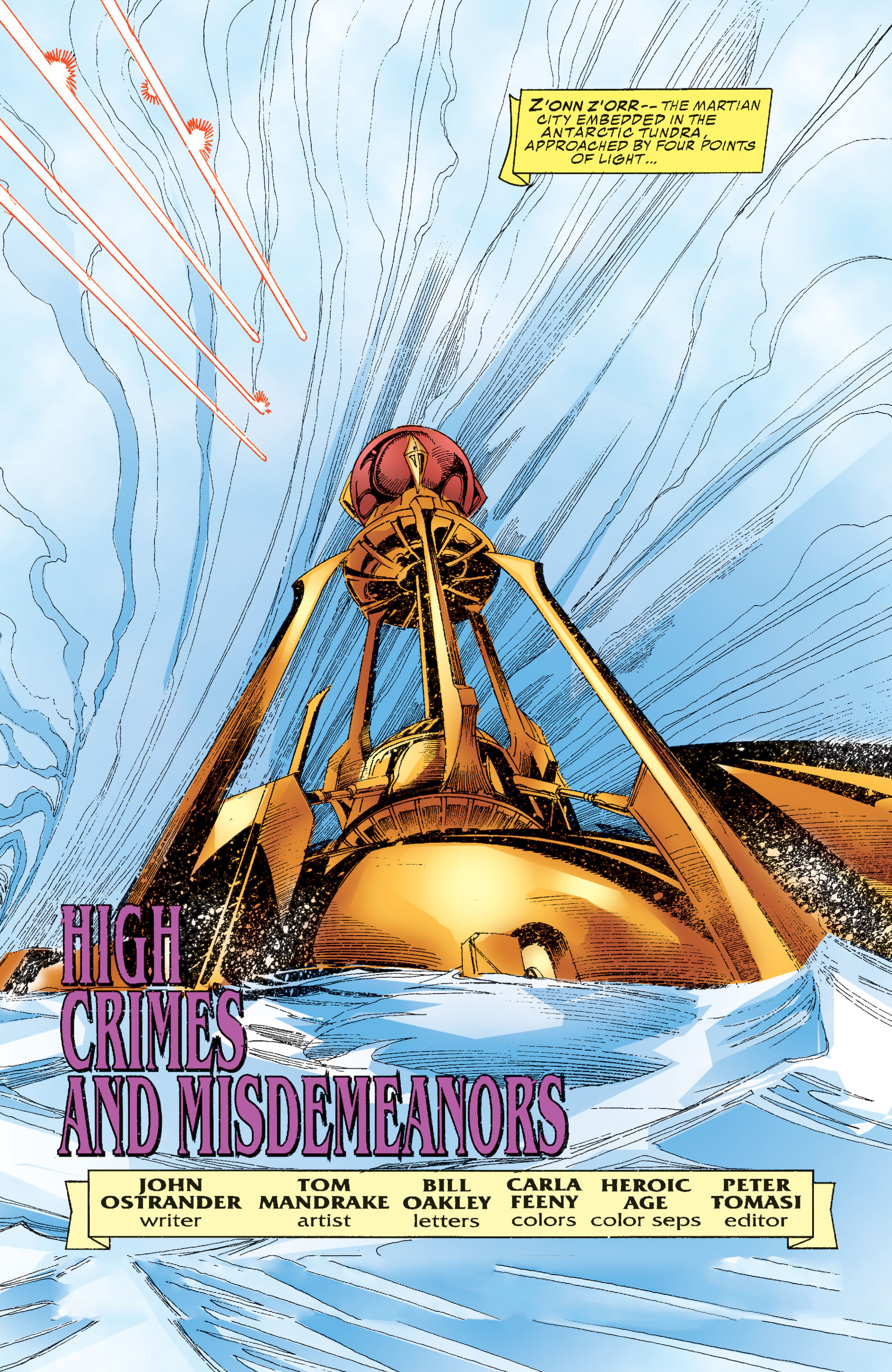 Read online Martian Manhunter: Son of Mars comic -  Issue # TPB - 145