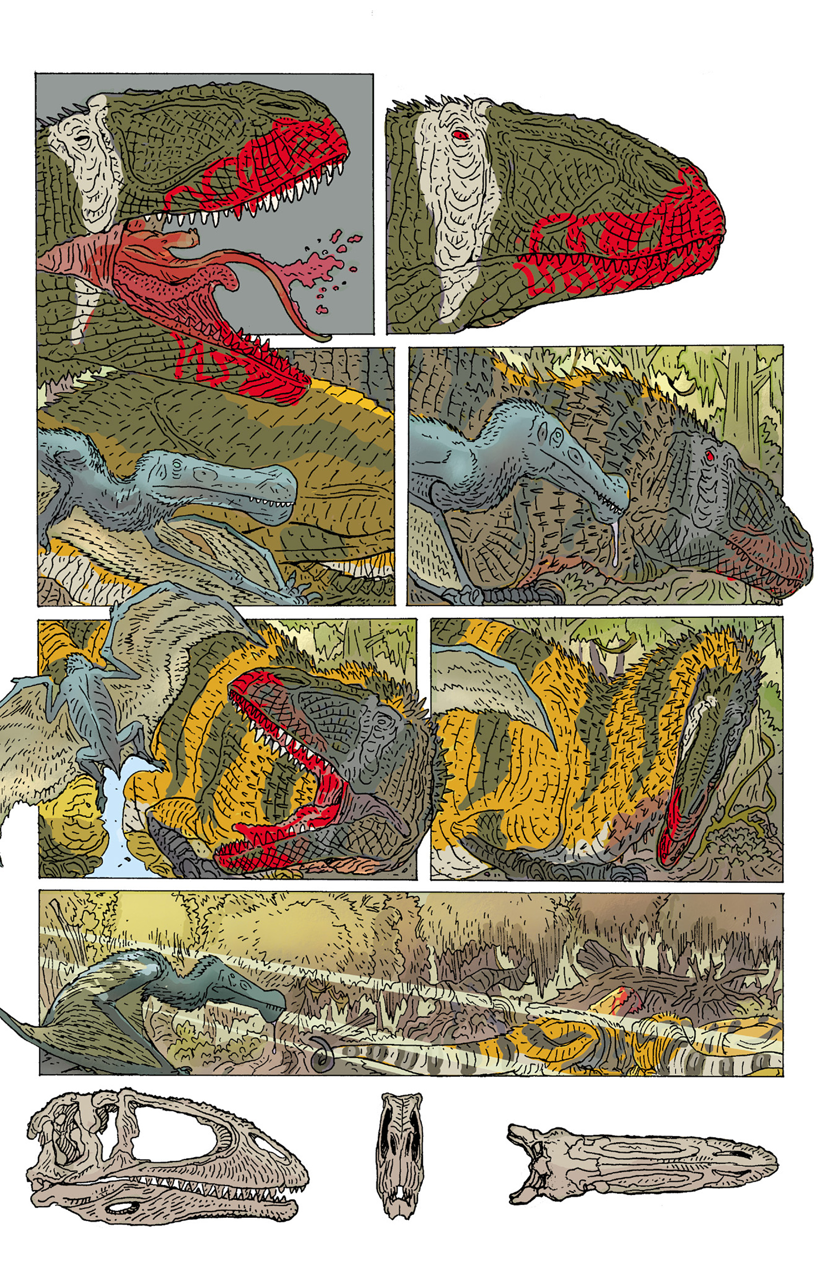 Read online Age of Reptiles: Ancient Egyptians comic -  Issue #2 - 16