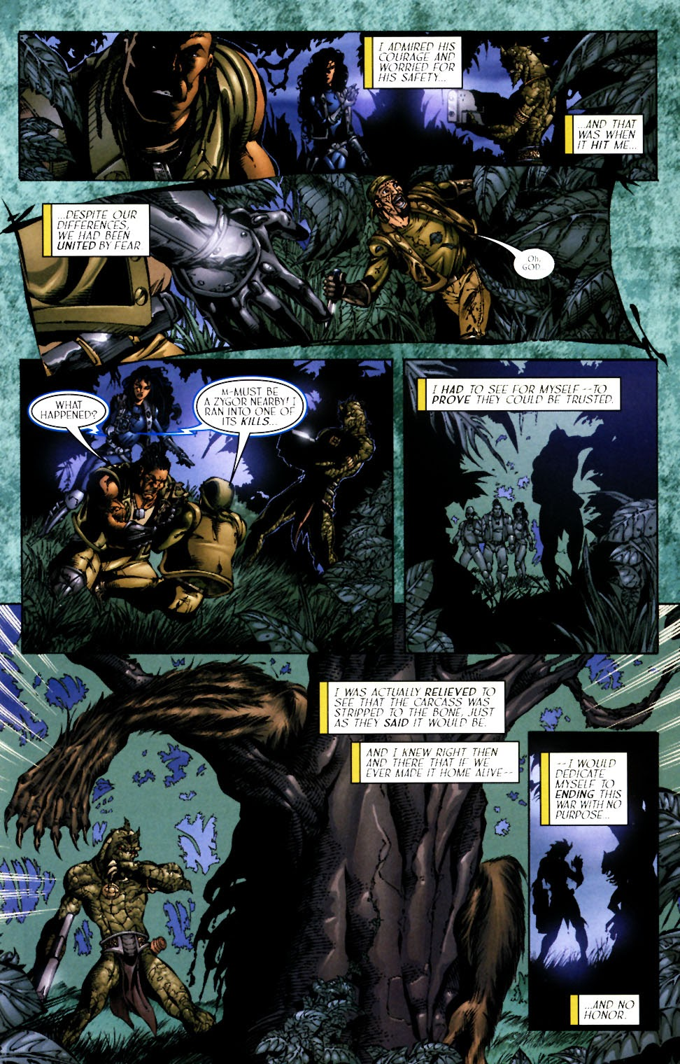 Read online Saurians: Unnatural Selection comic -  Issue #1 - 13