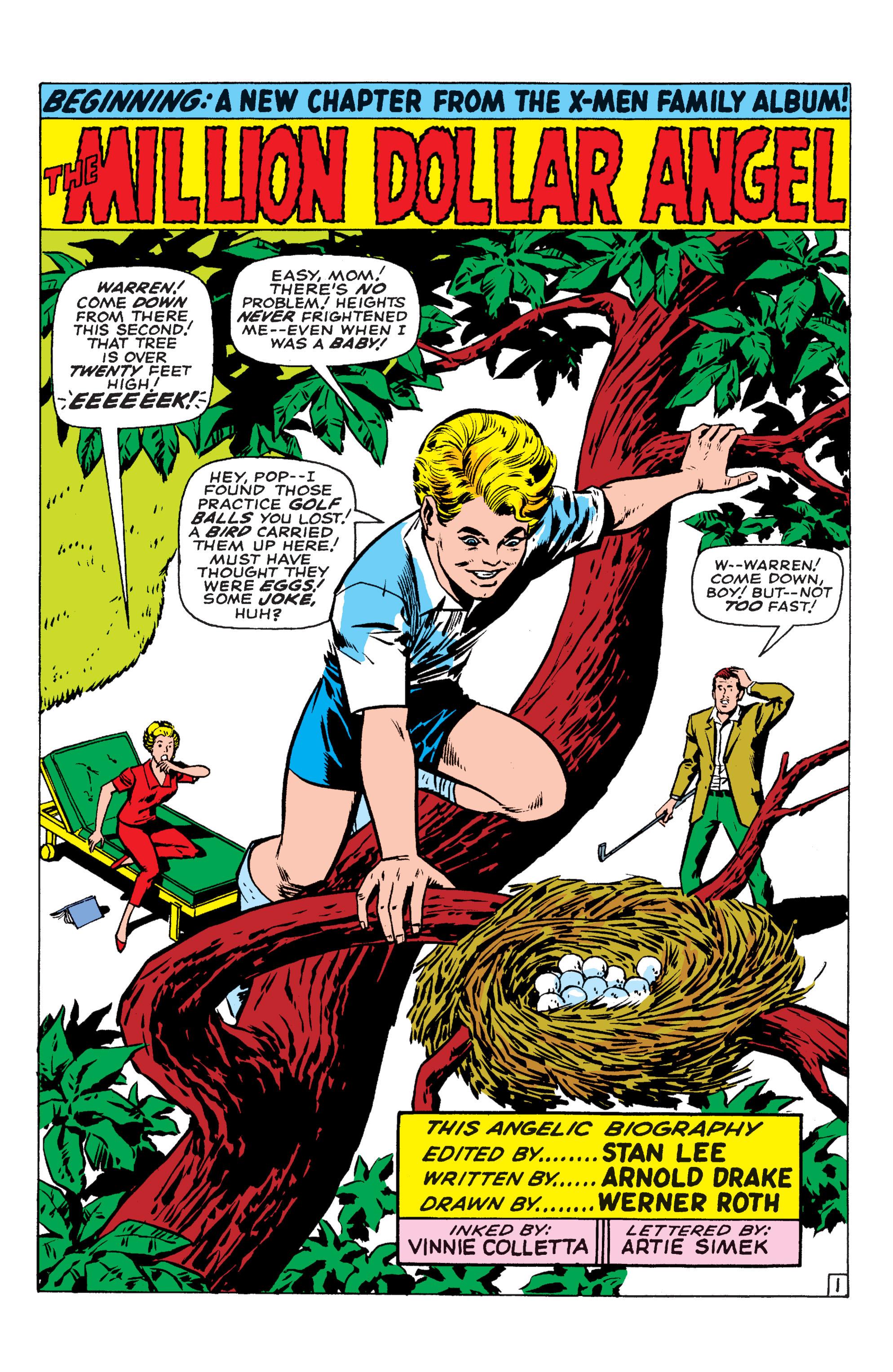 Read online Uncanny X-Men (1963) comic -  Issue #54 - 17