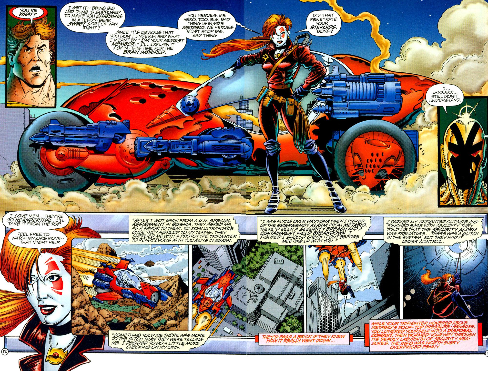 Read online UltraForce (1994) comic -  Issue #8 - 12