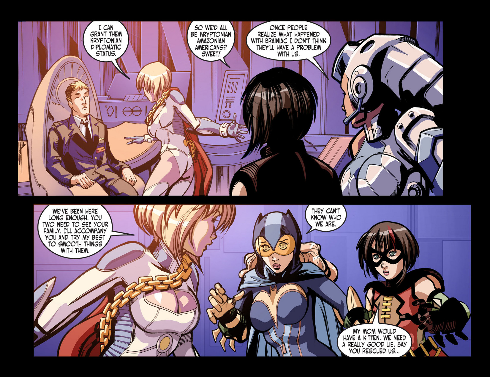 Read online Ame-Comi Girls comic -  Issue #6 - 9