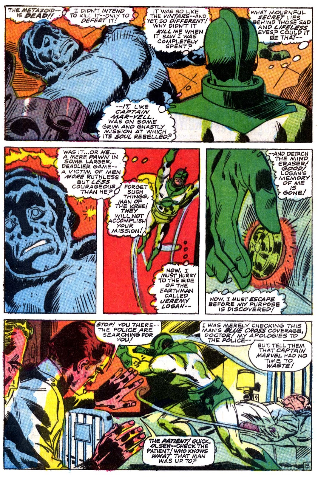 Captain Marvel (1968) issue 5 - Page 20
