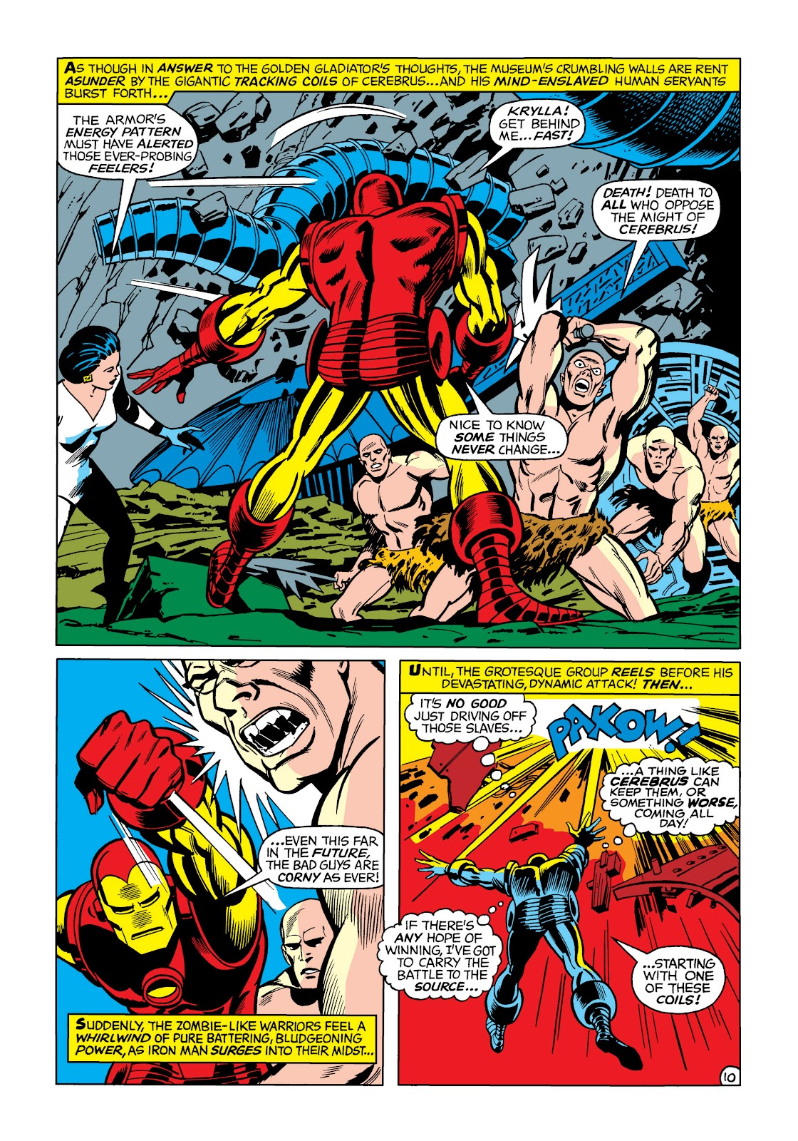 Read online Marvel Masterworks: The Invincible Iron Man comic -  Issue # TPB 5 (Part 1) - 80