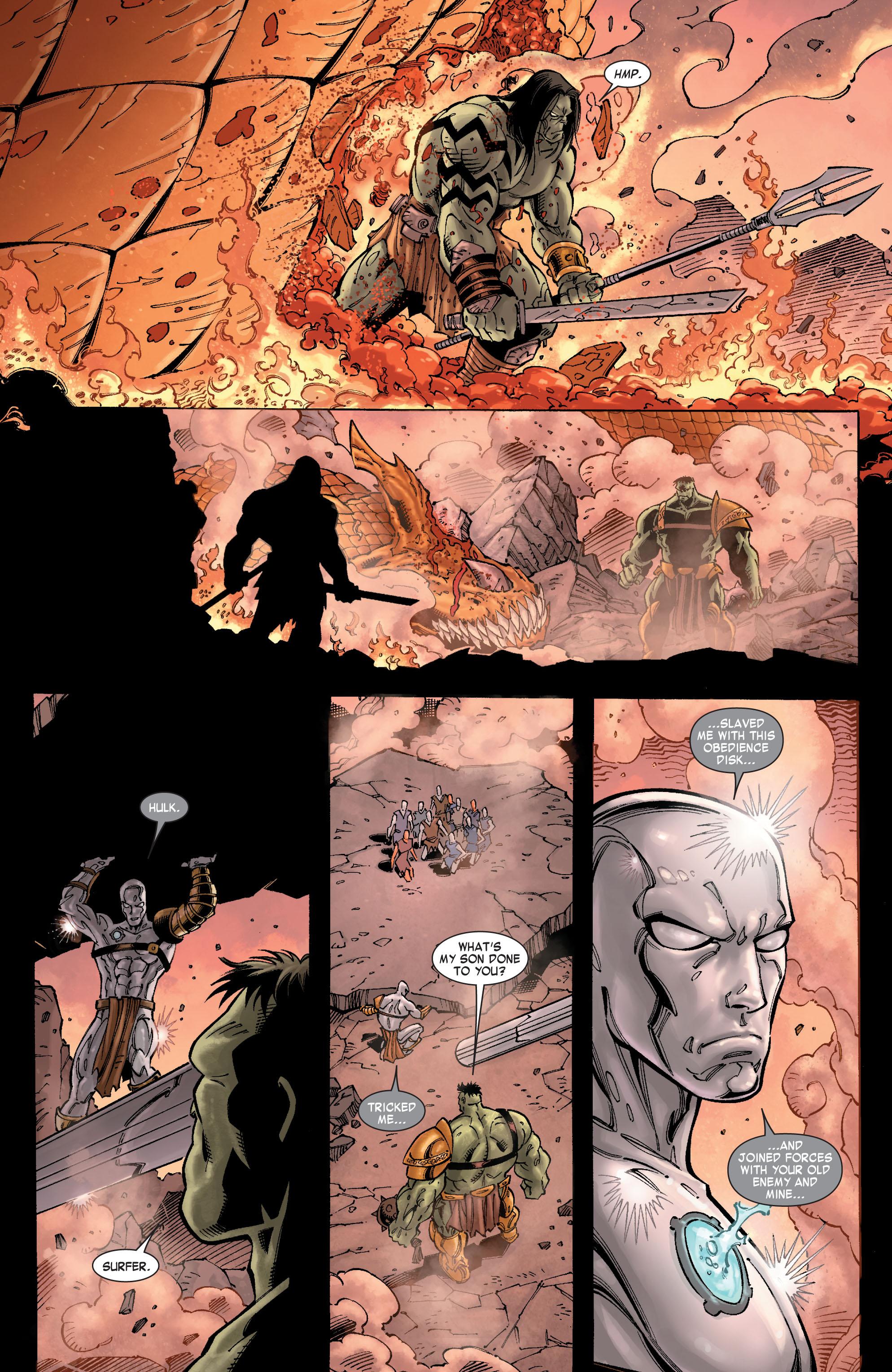 Read online Skaar: Son of Hulk comic -  Issue #9 - 10