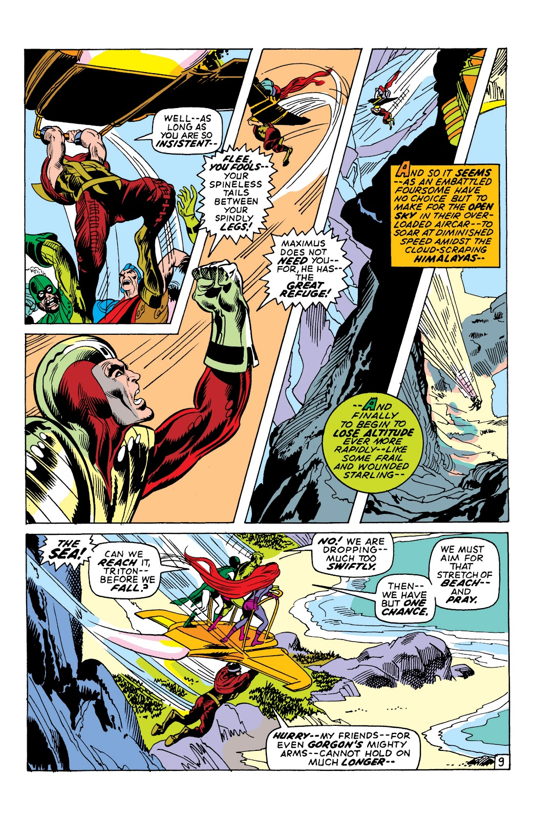 Read online Marvel Masterworks: The Inhumans comic -  Issue # TPB 1 (Part 2) - 33