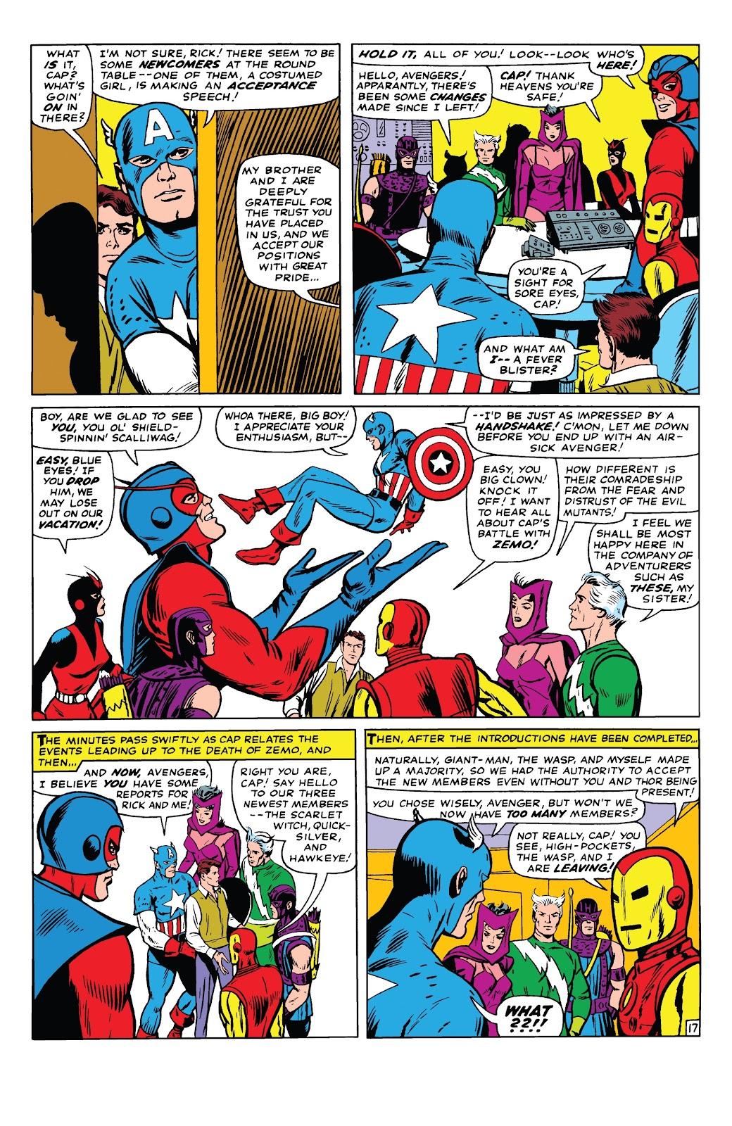Read online Marvel Tales: Avengers comic -  Issue # Full - 22
