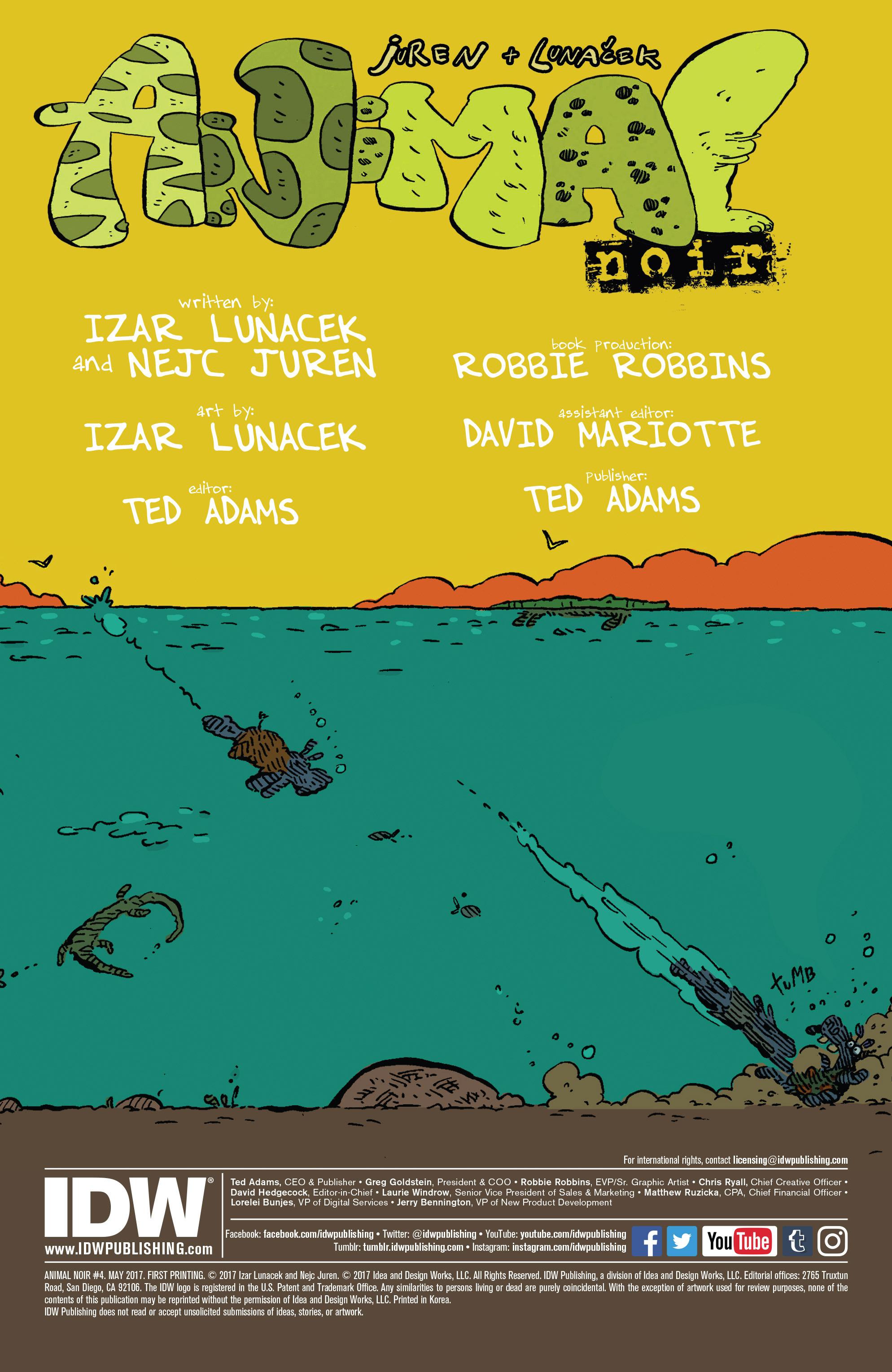 Read online Animal Noir comic -  Issue #4 - 2