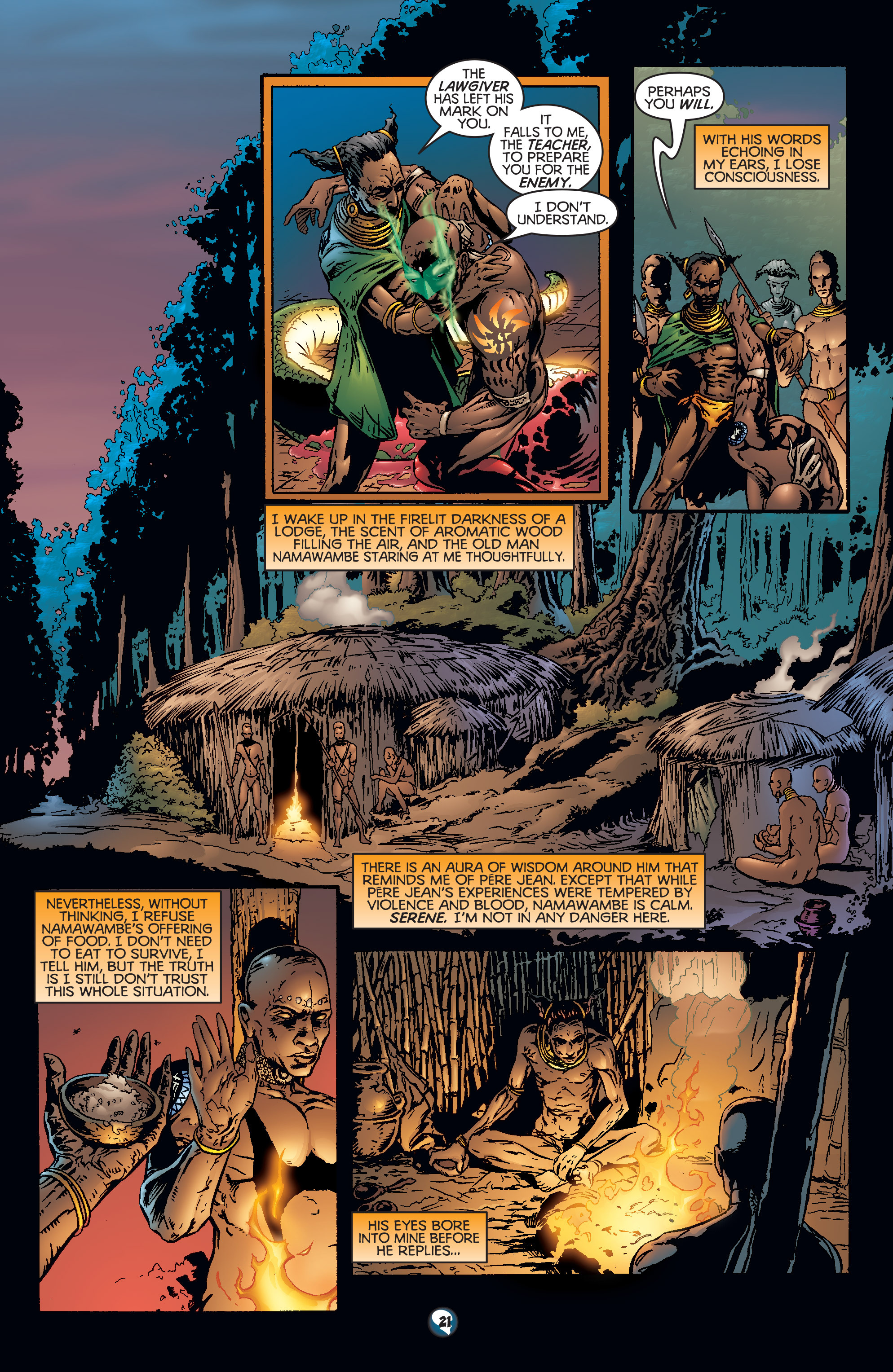 Read online Shadowman (1997) comic -  Issue #18 - 17