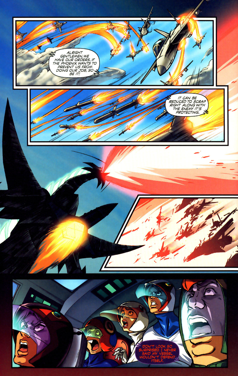 Battle of the Planets Issue #12 #14 - English 7