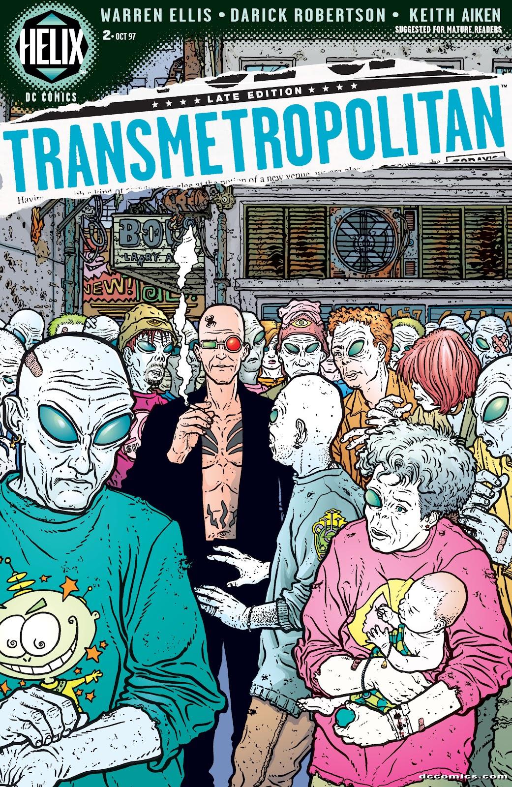 Transmetropolitan 2 Page 1