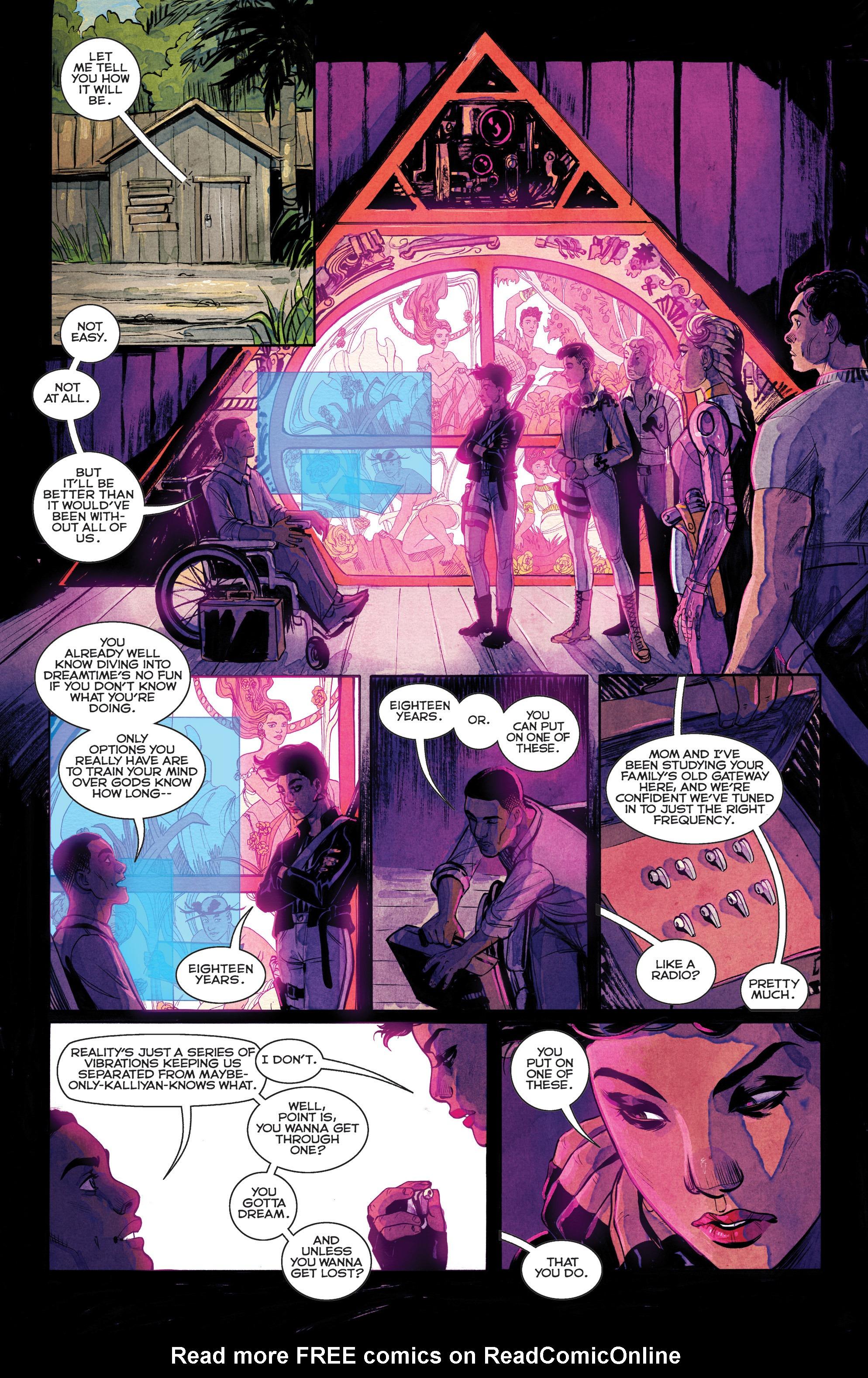 Read online Shutter comic -  Issue #25 - 12