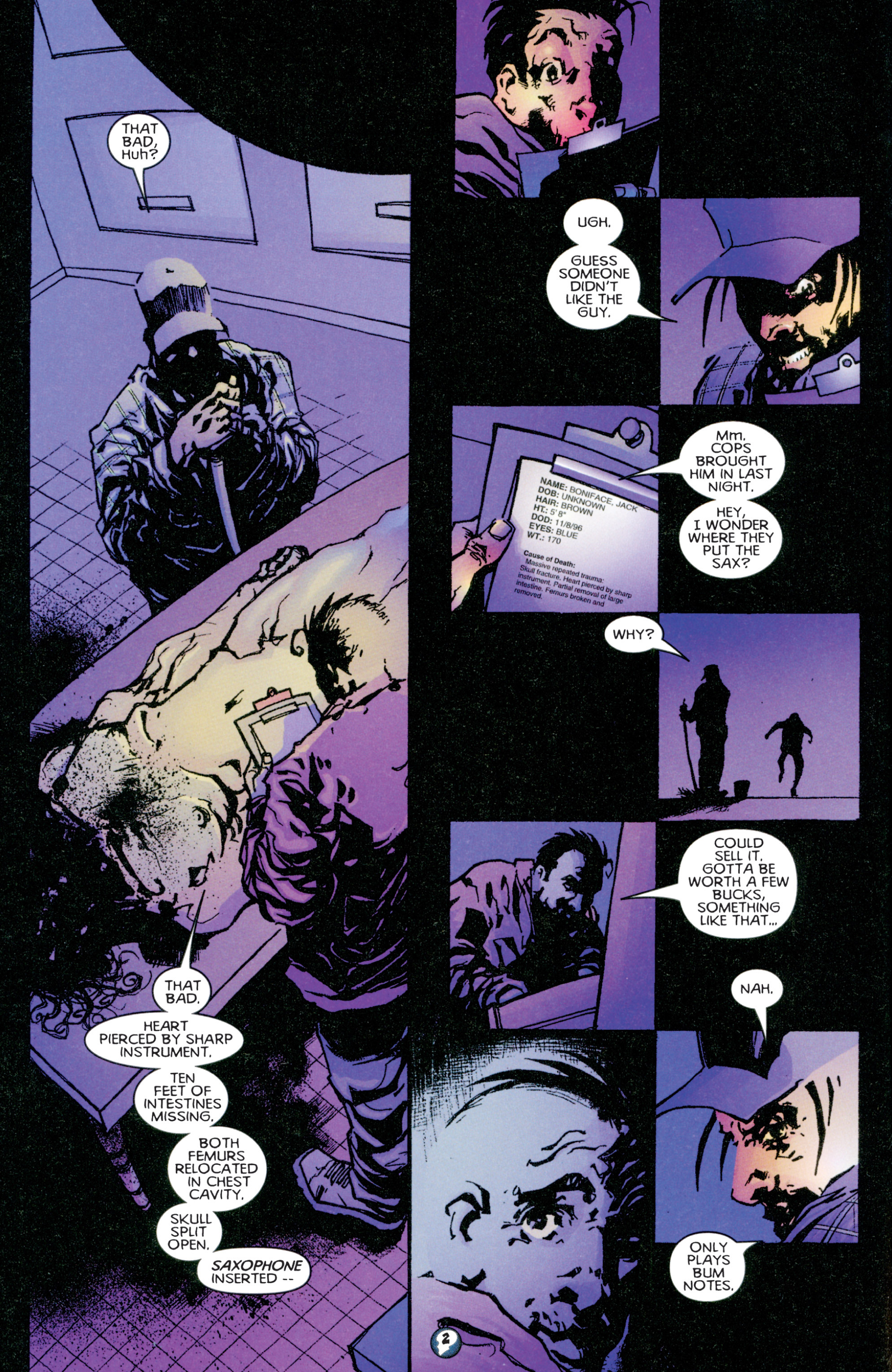 Read online Shadowman (1997) comic -  Issue #1 - 3