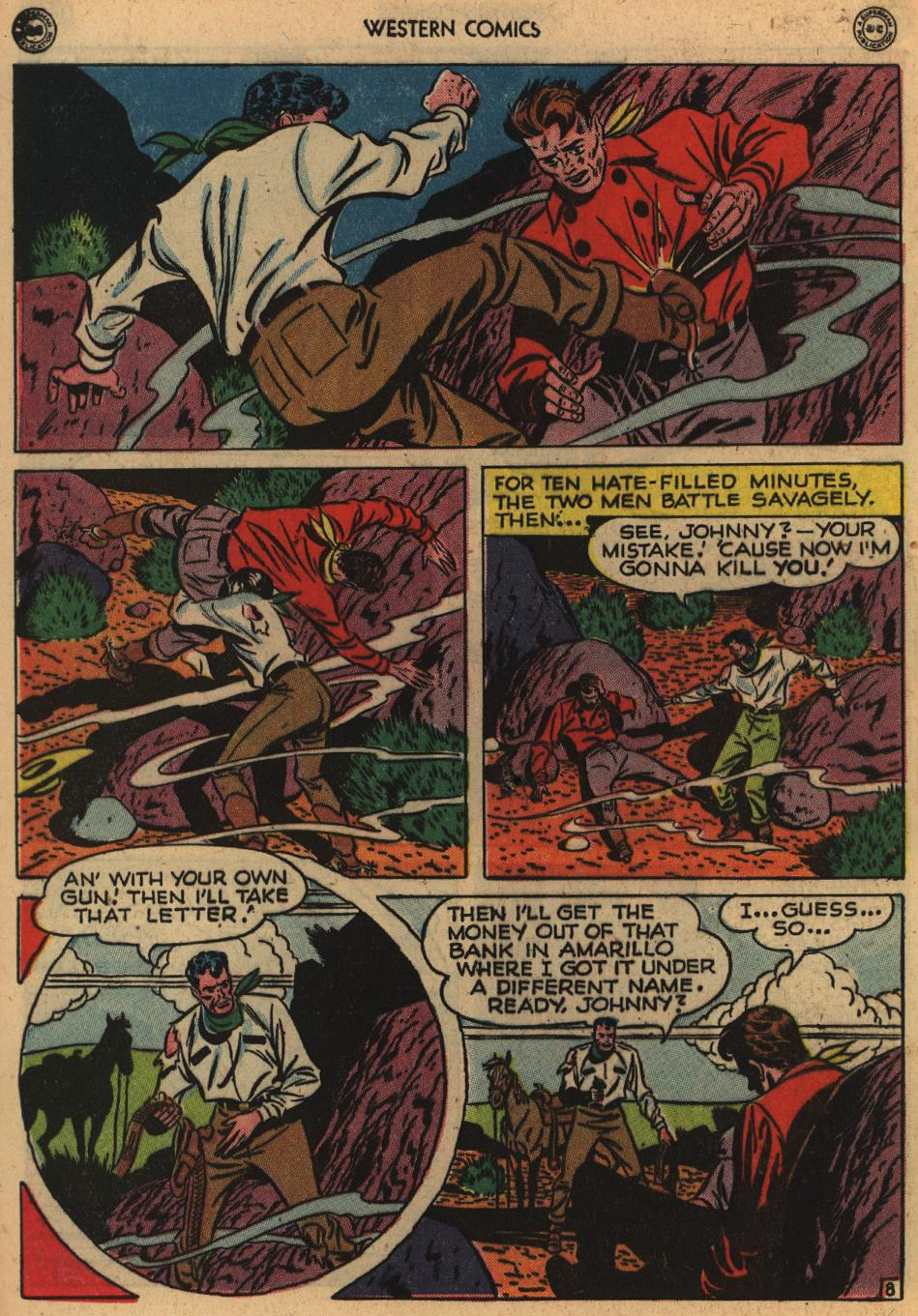 Western Comics issue 1 - Page 46