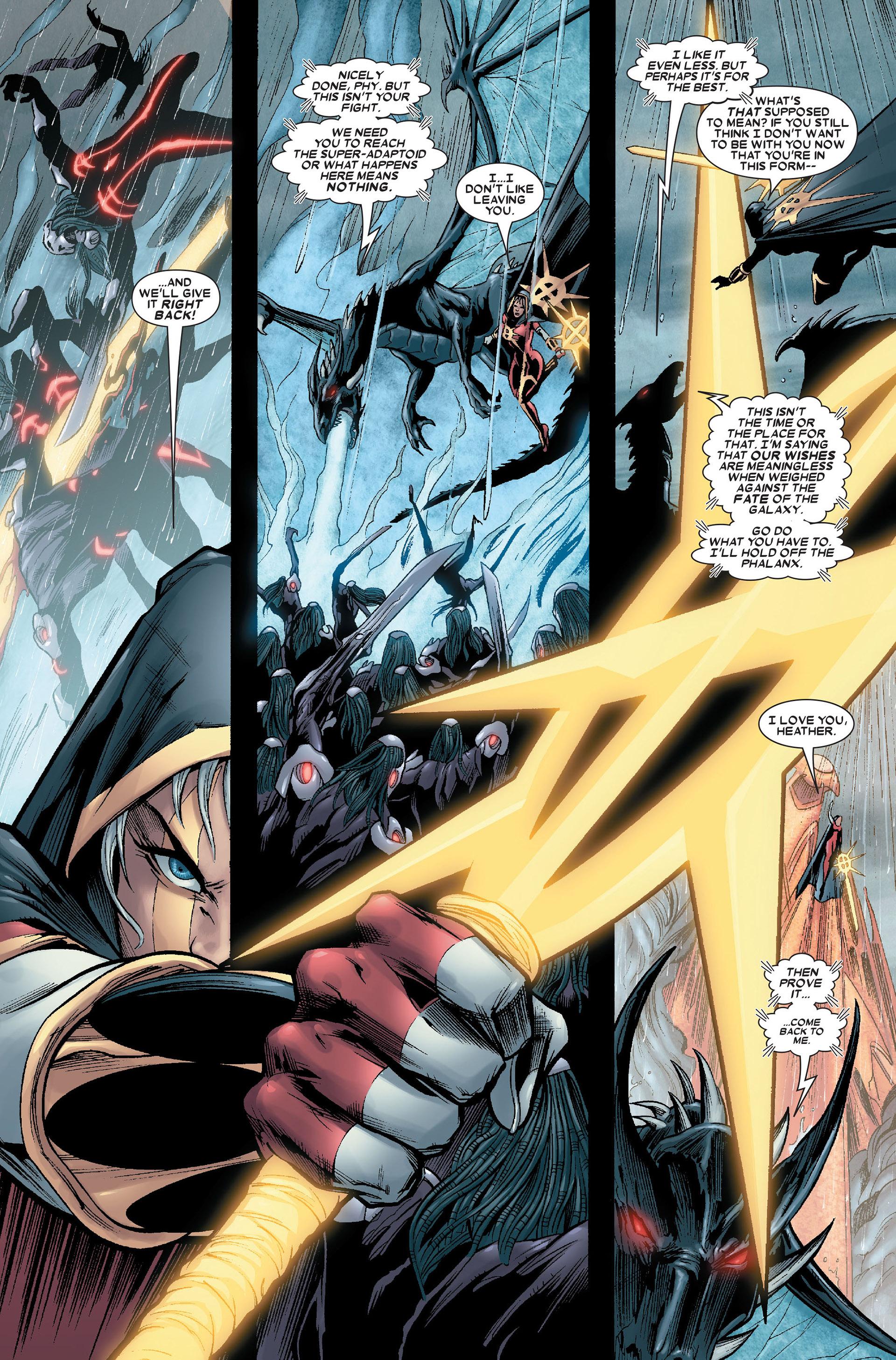 Read online Annihilation: Conquest - Quasar comic -  Issue #4 - 5
